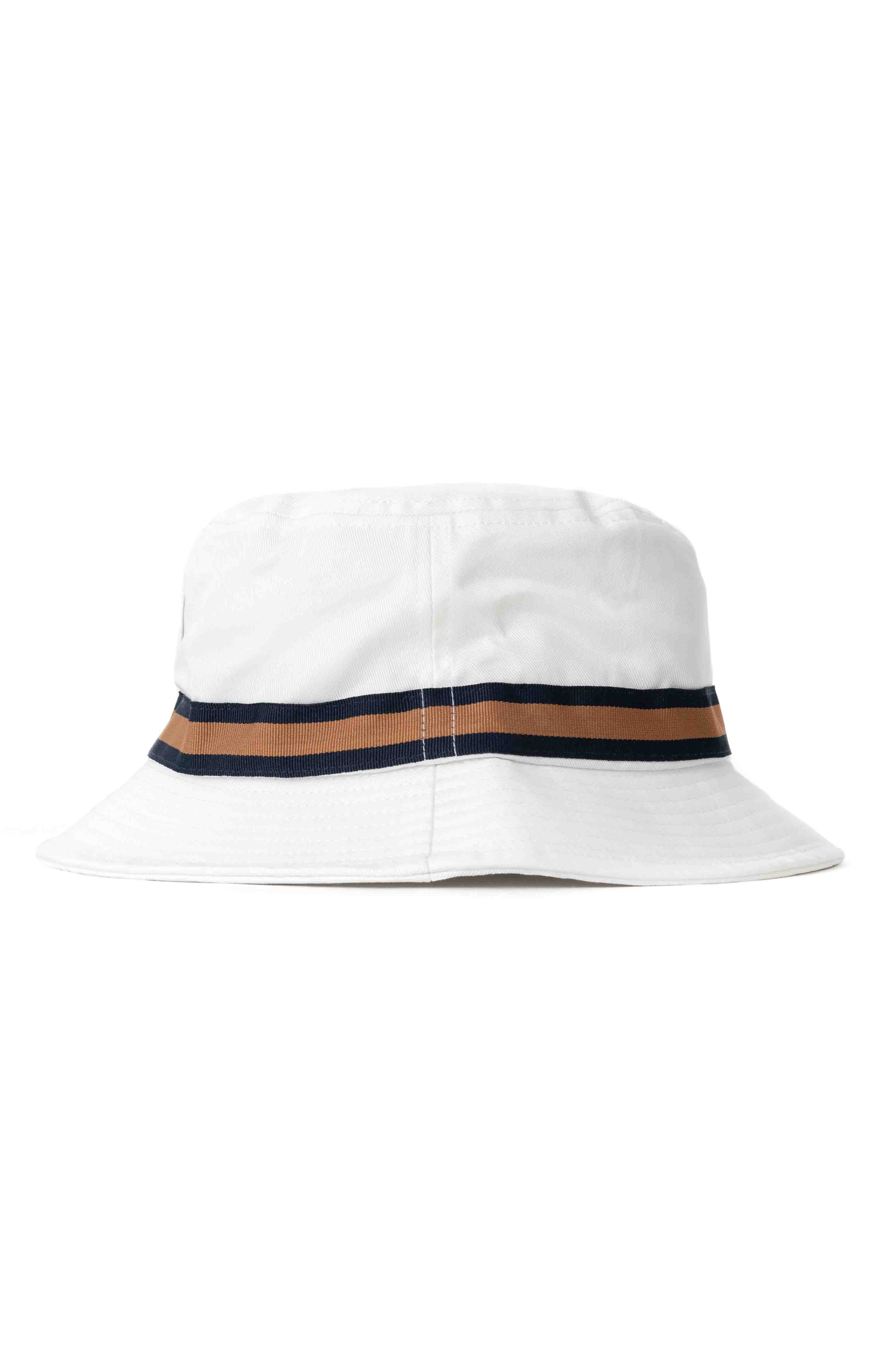 Alton Packable Bucket Hat - Off White/Washed Navy 3
