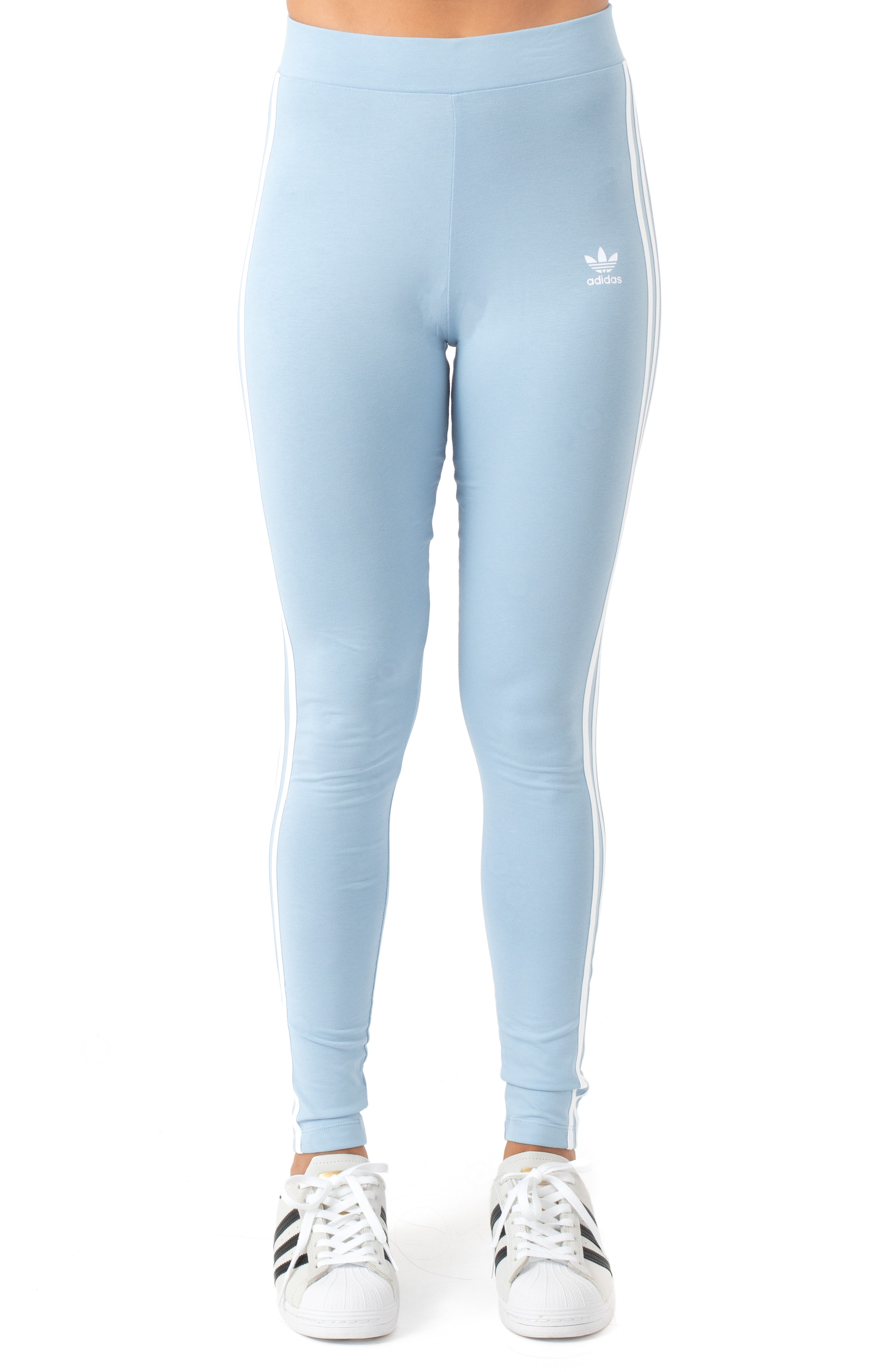 3 Stripes Tights - Ambient Sky  2