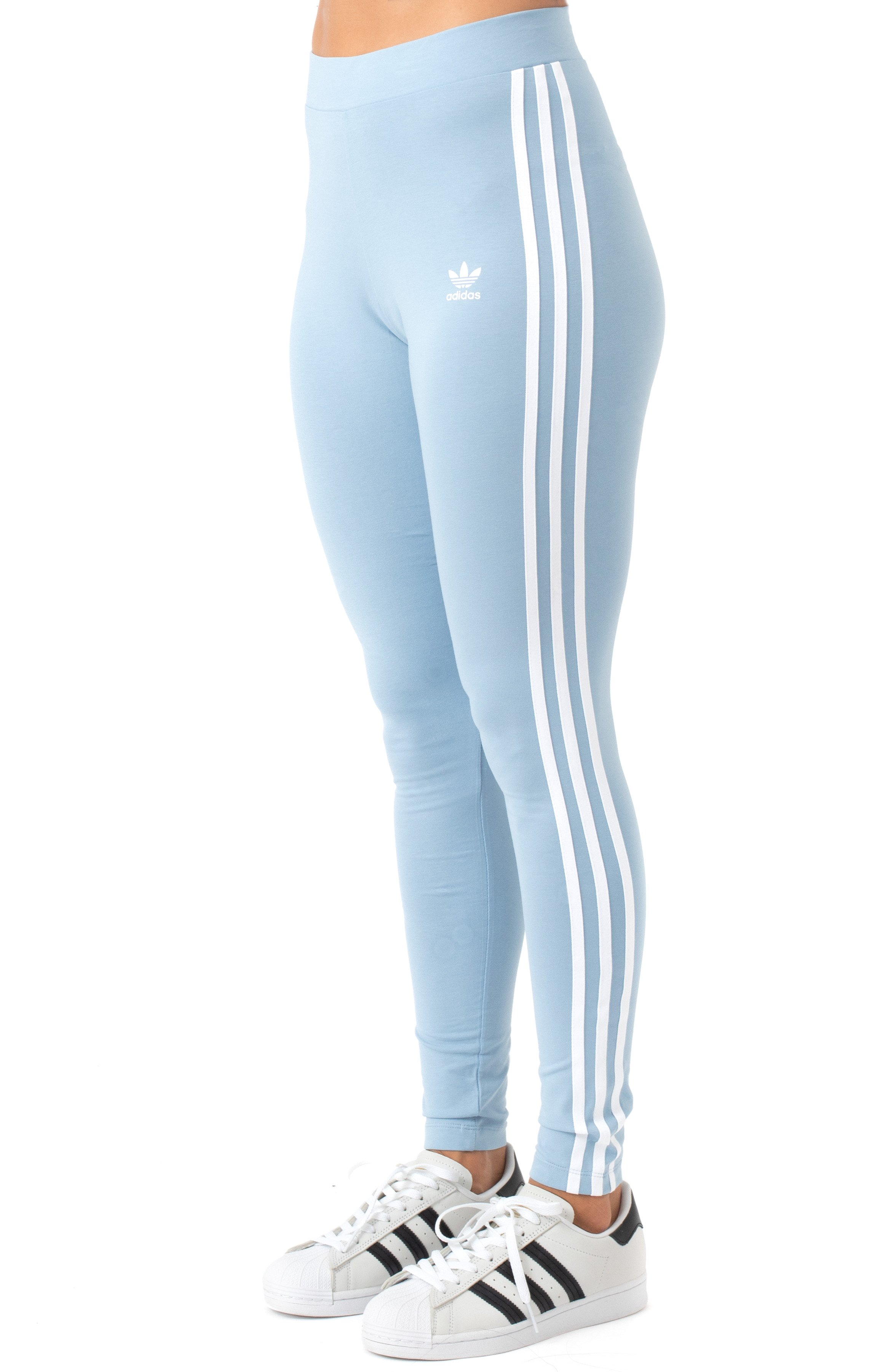 3 Stripes Tights - Ambient Sky