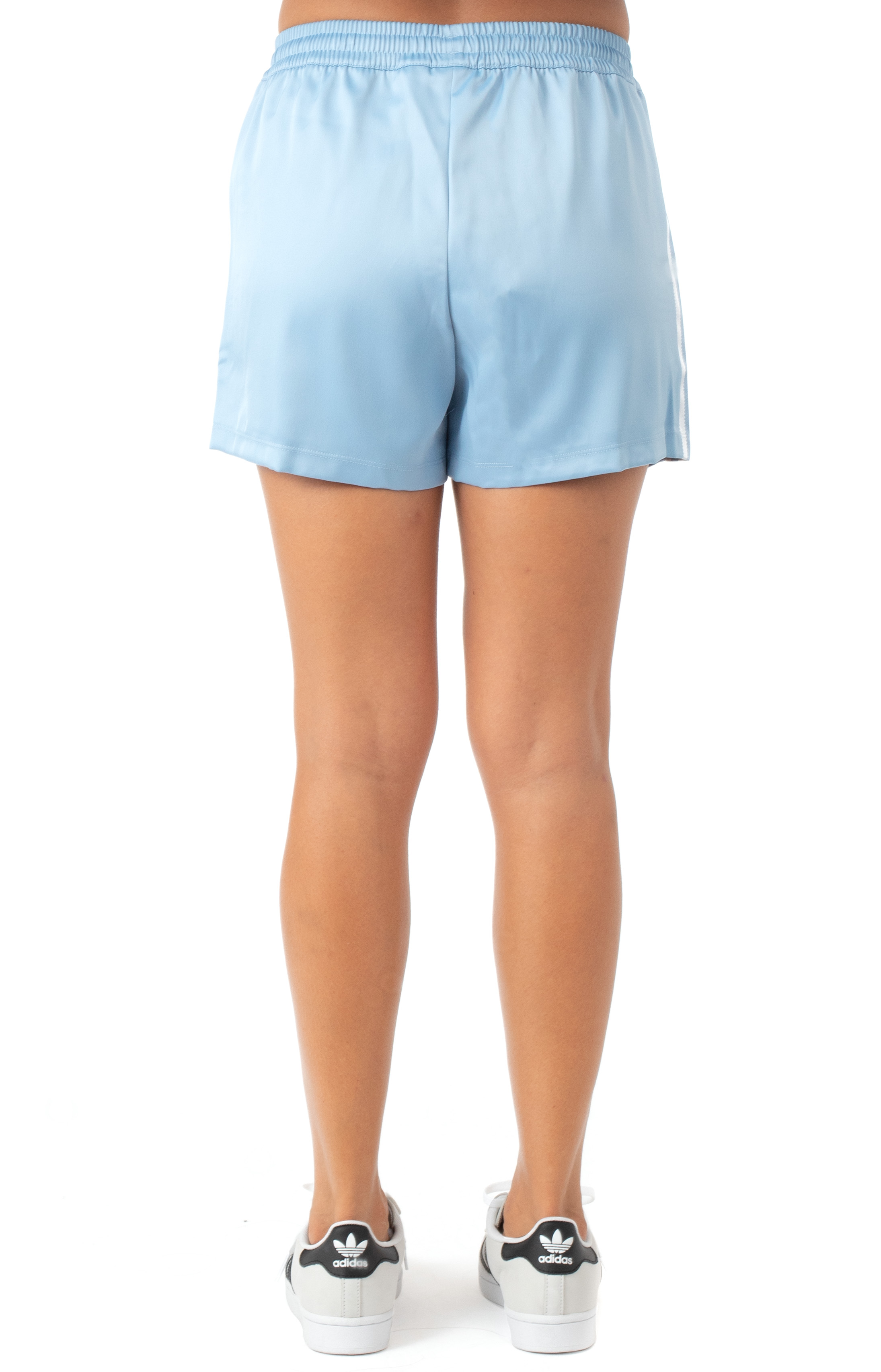 (H37808) 3 Stripe Shorts - Ambient Sky  3