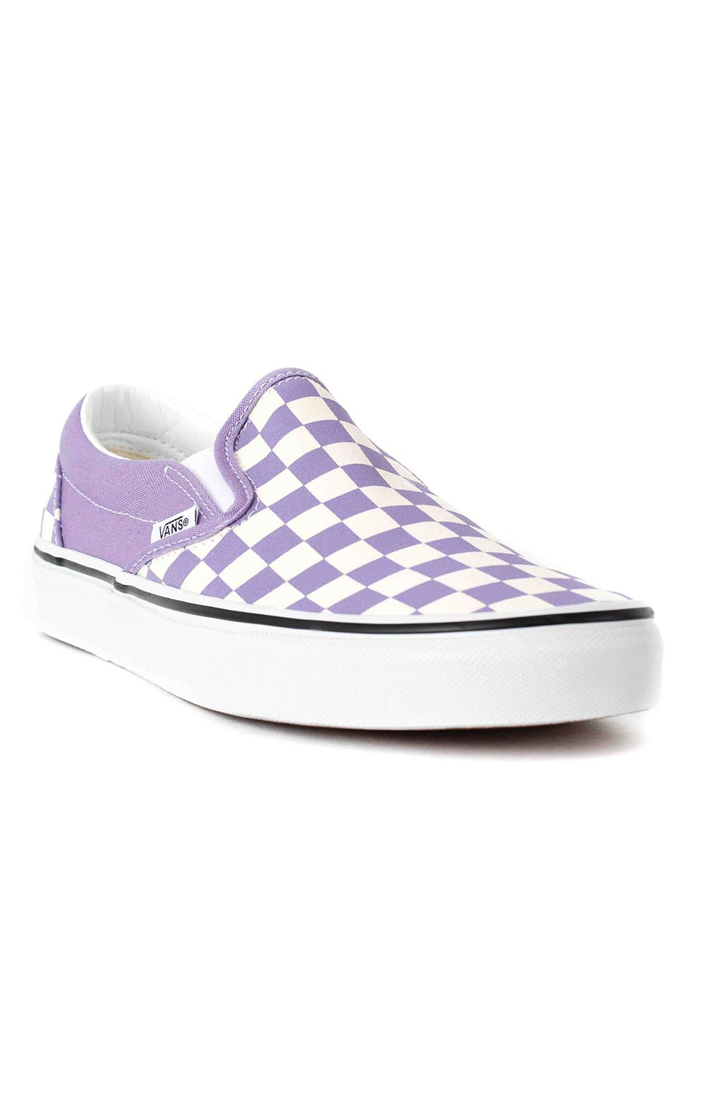 Checkerboard Classic Slip-On Shoes - Chalk Violet  3