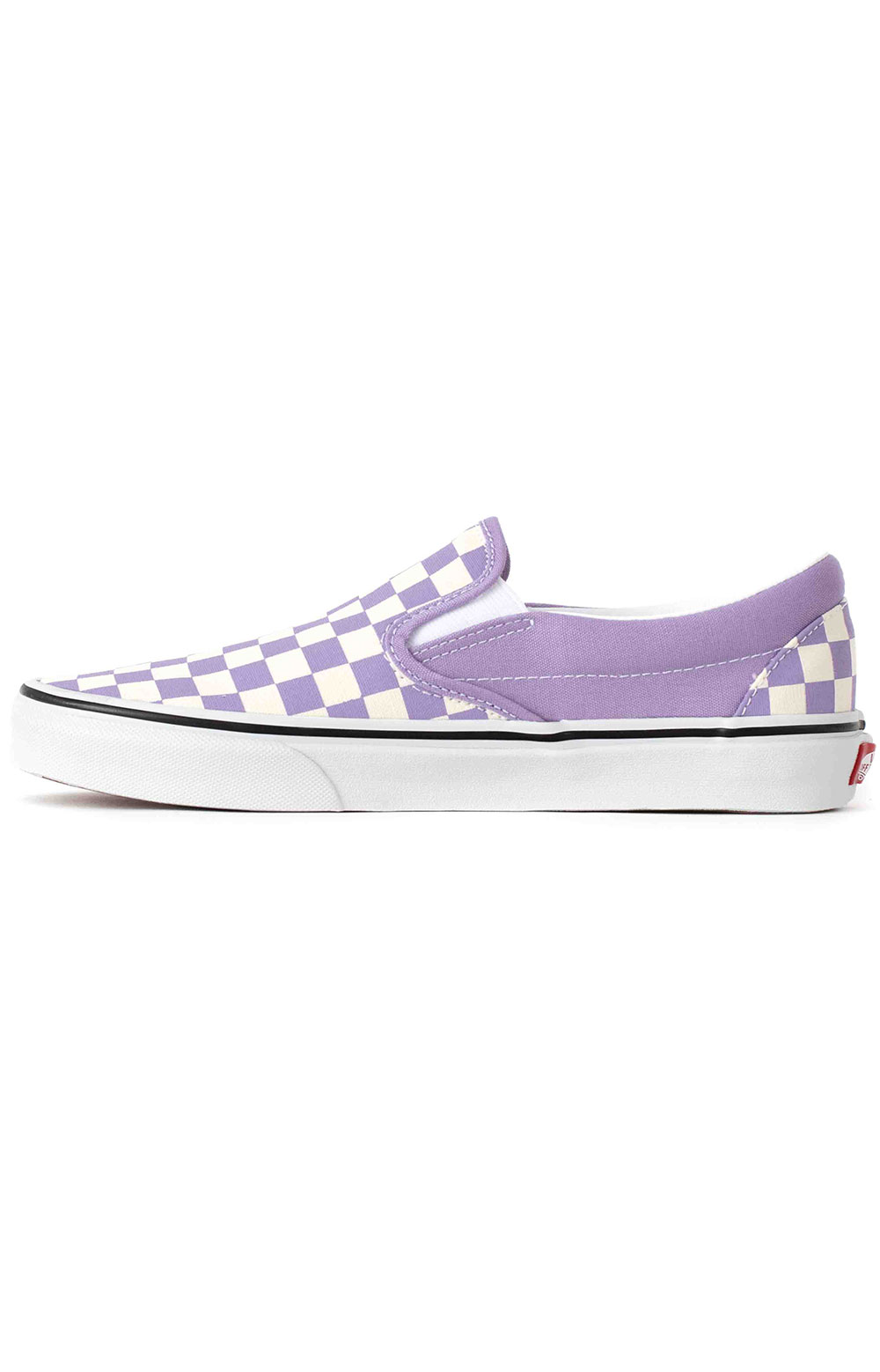 (3TB9HM) Checkerboard Classic Slip-On Shoes - Chalk Violet  4