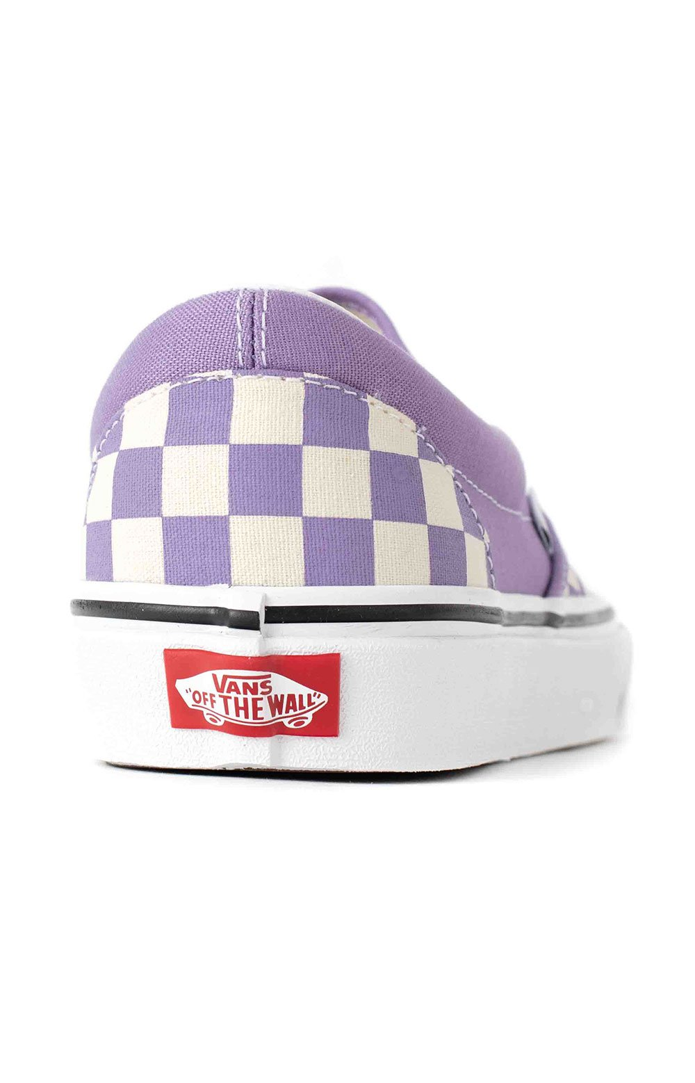 (3TB9HM) Checkerboard Classic Slip-On Shoes - Chalk Violet  5