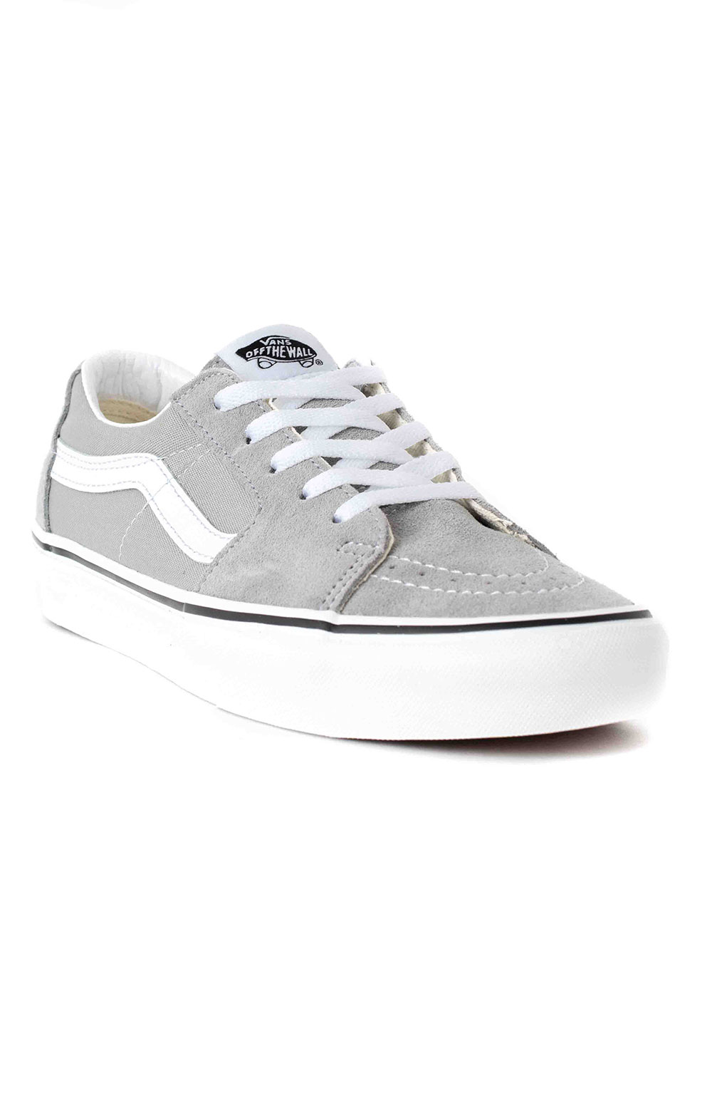 (UUKIYP) Sk8-Low Shoes - Drizzle/True White  3