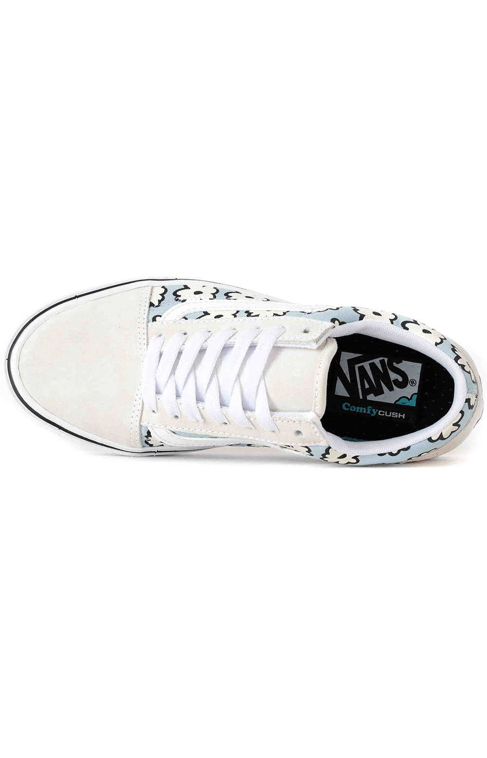 (DYC9KR) Mixed Cozy Comfycush Old Skool Shoes - Marshmallow/Pastel 2