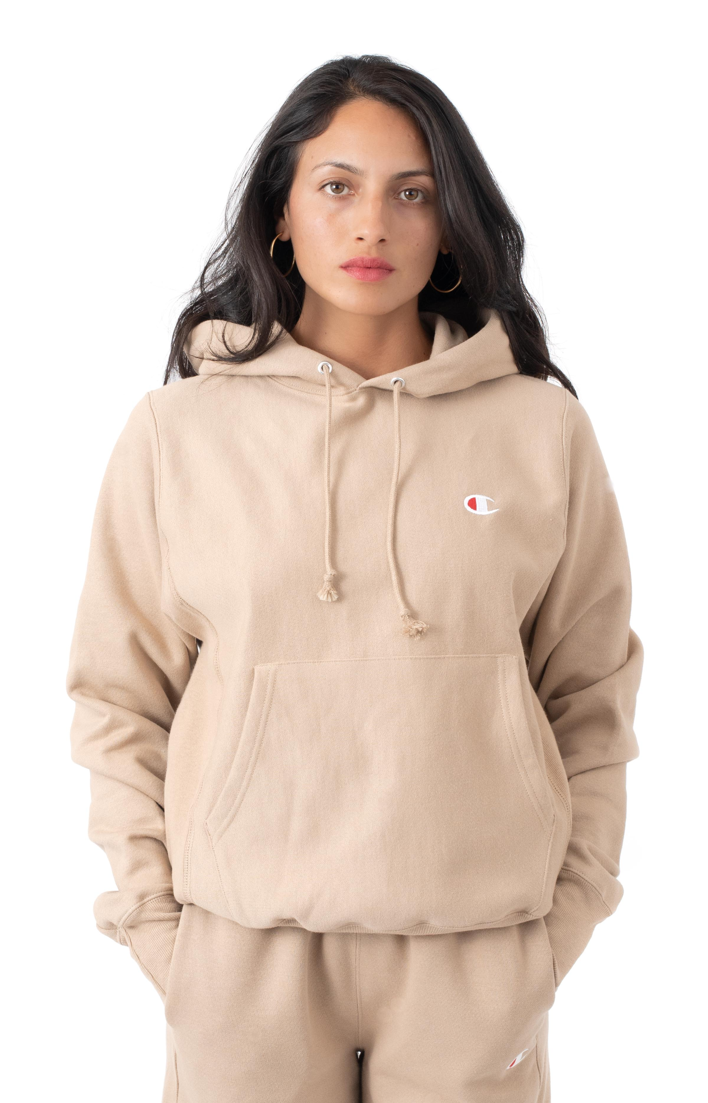 Reverse Weave Pullover Hoodie - Country Walnut