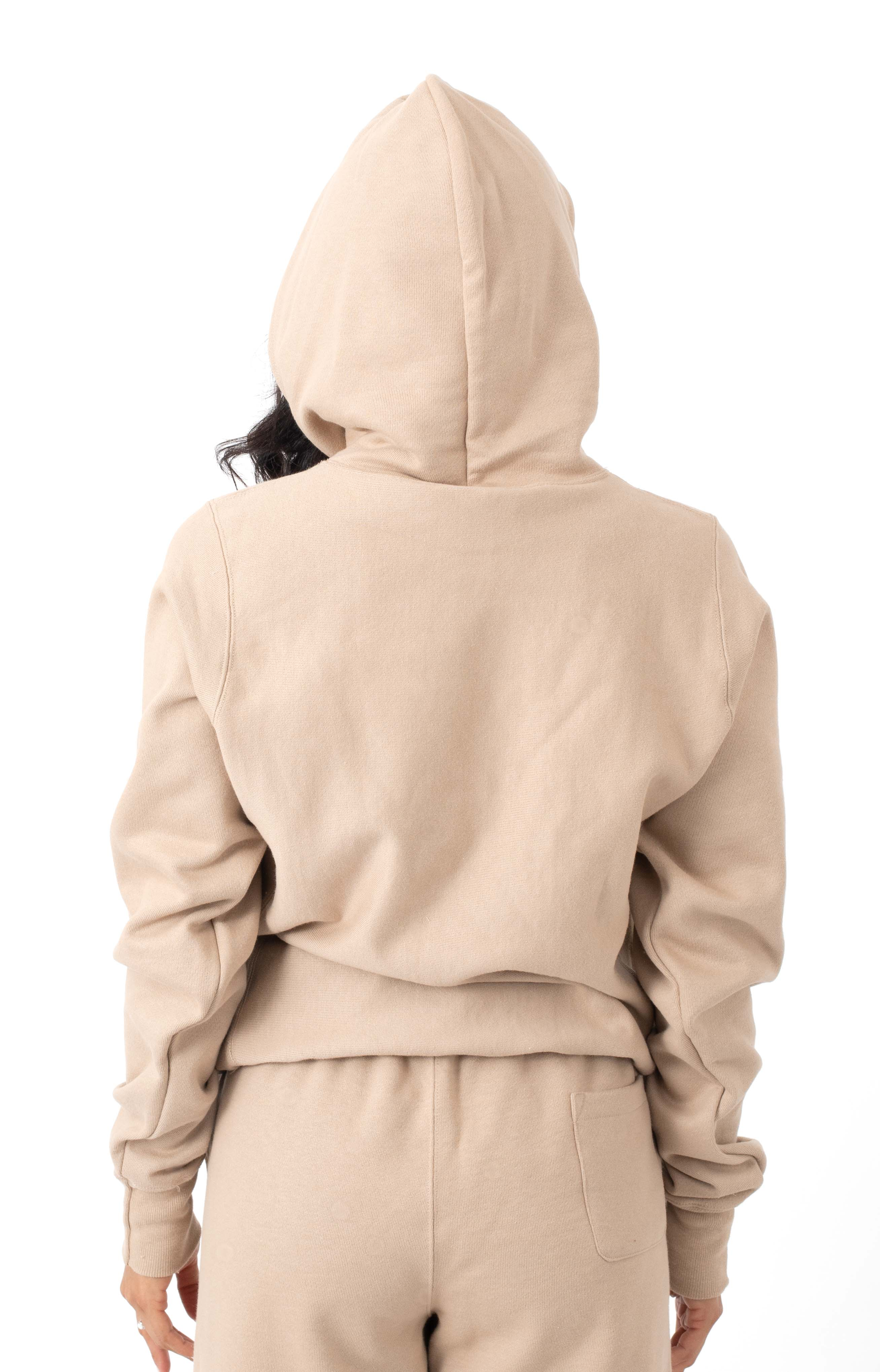 Reverse Weave Pullover Hoodie - Country Walnut  3