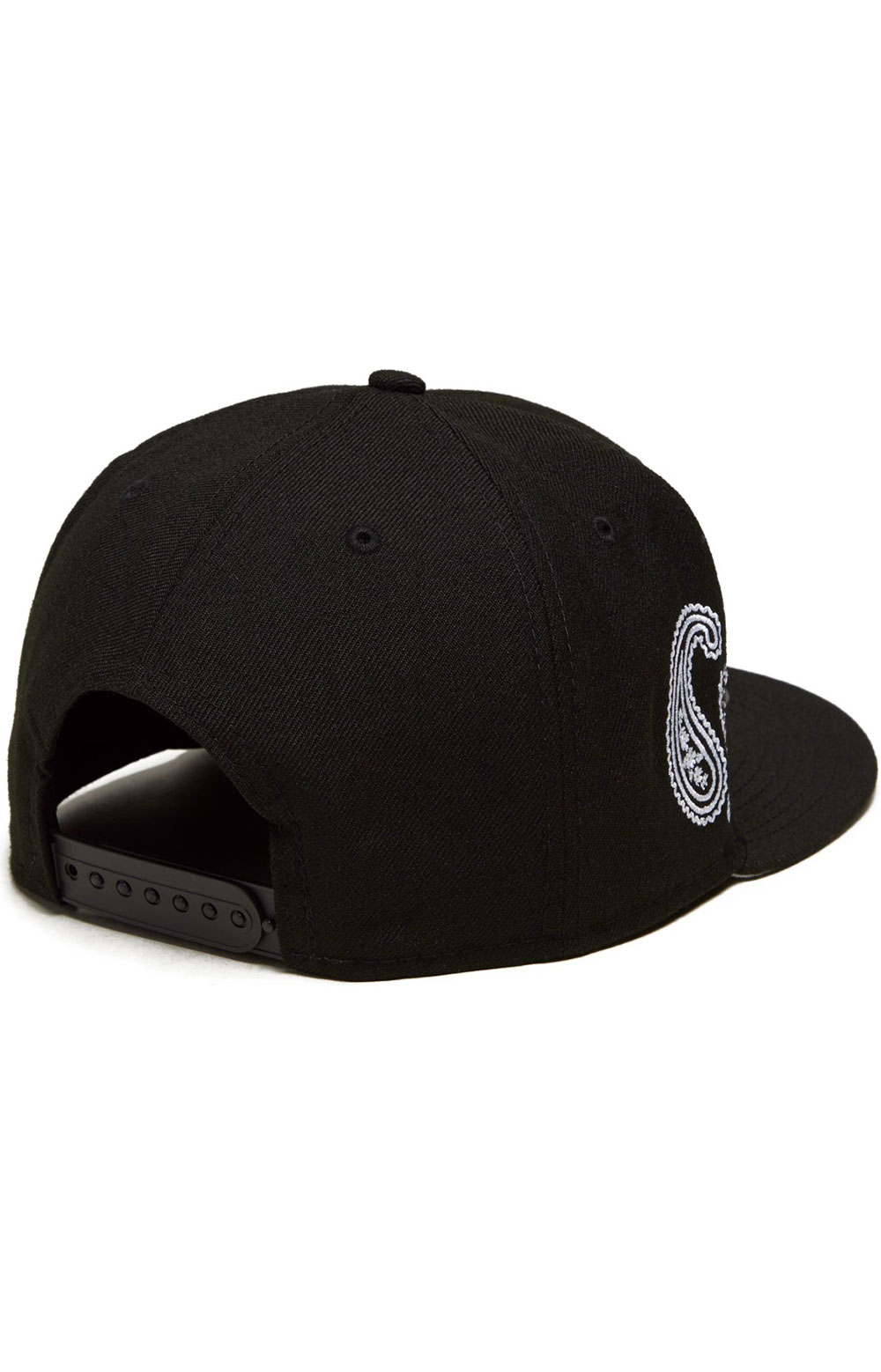 Los Angeles Dodgers Paisley Elements 59Fifty Fitted Hat - Black  3