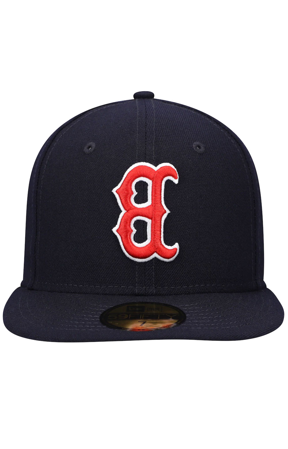 Boston Red Sox Upside Down Logo 59Fifty Fitted Hat - Navy 2