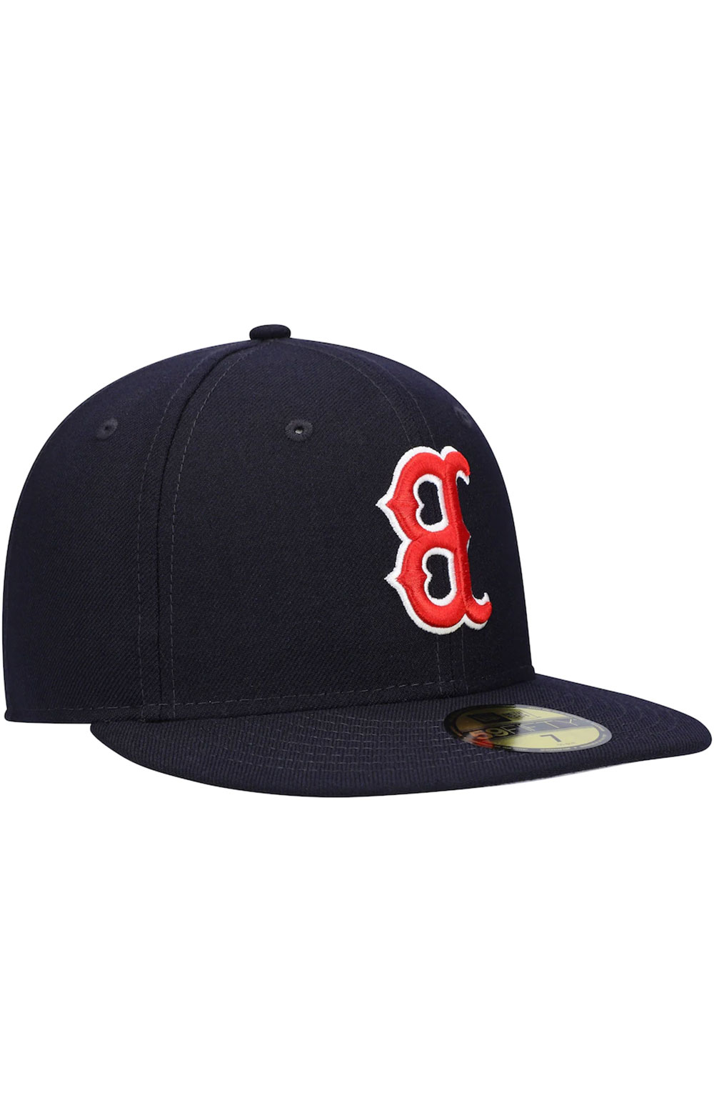 Boston Red Sox Upside Down Logo 59Fifty Fitted Hat - Navy 3