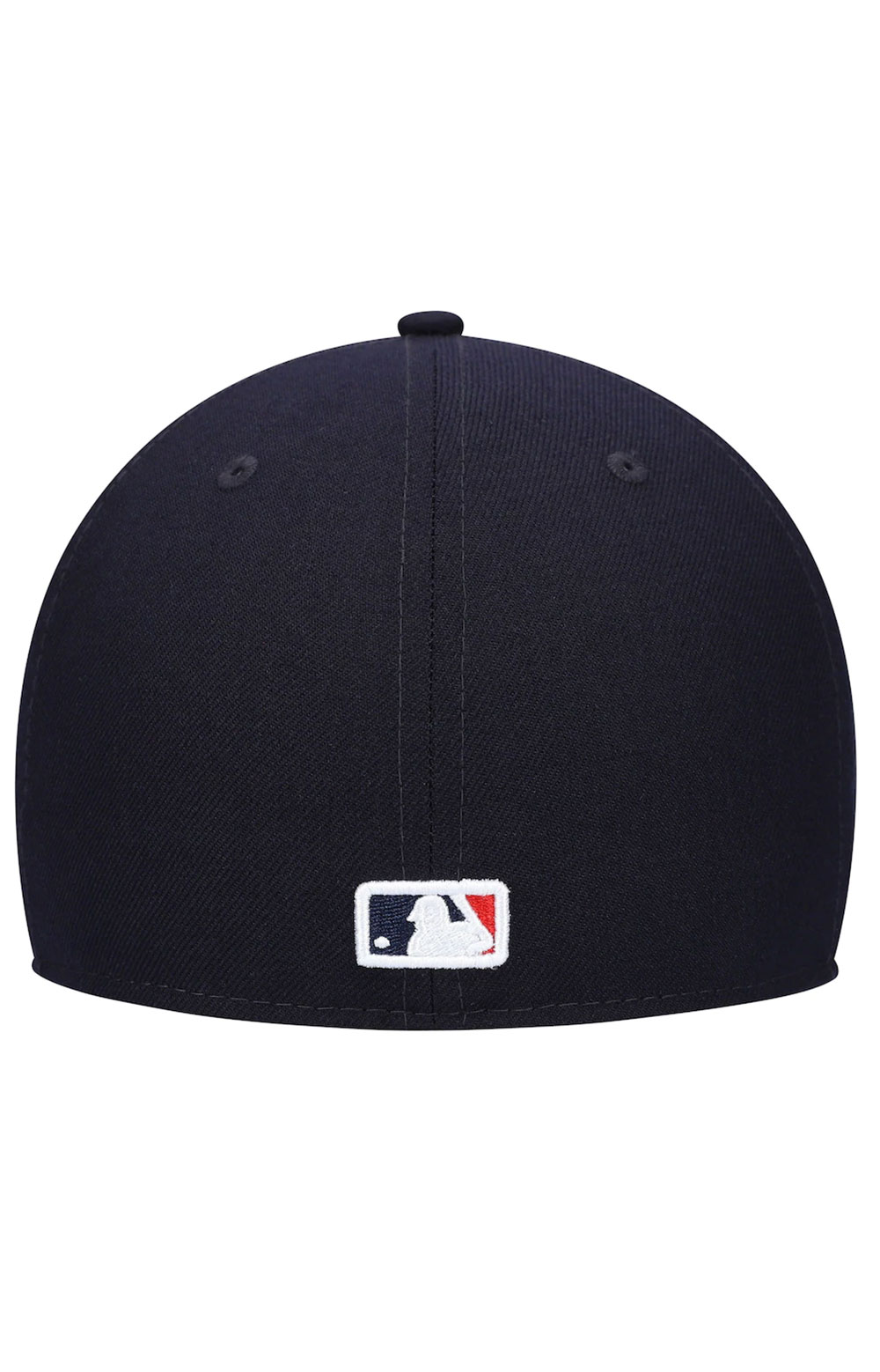 Boston Red Sox Upside Down Logo 59Fifty Fitted Hat - Navy 4
