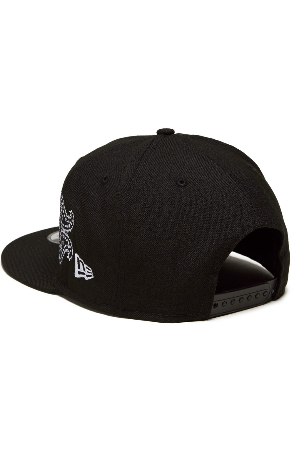 Brooklyn Nets Paisley Elements 59Fifty Fitted Hat - Black  2
