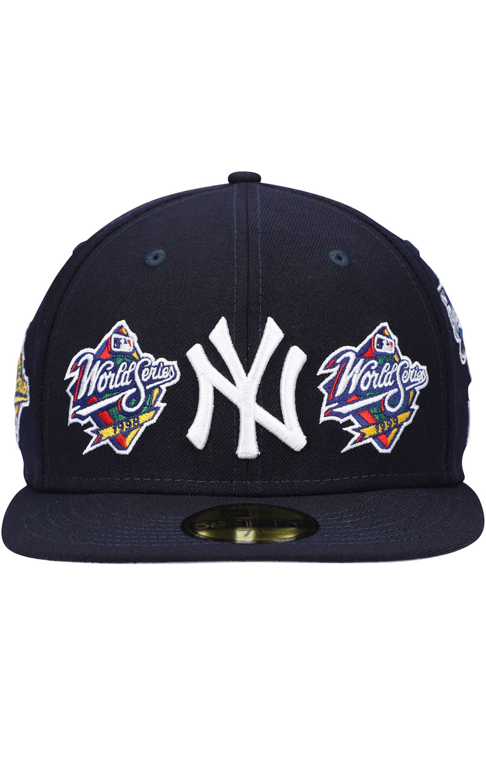 New York Yankees World Series Patch 59Fifty Fitted Hat - Navy 2