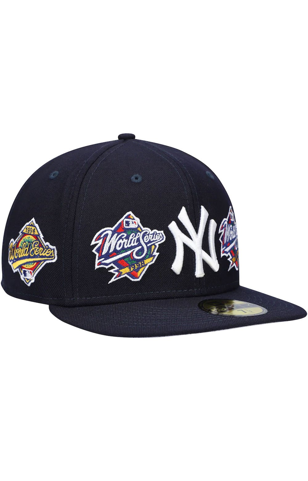 New York Yankees World Series Patch 59Fifty Fitted Hat - Navy 3