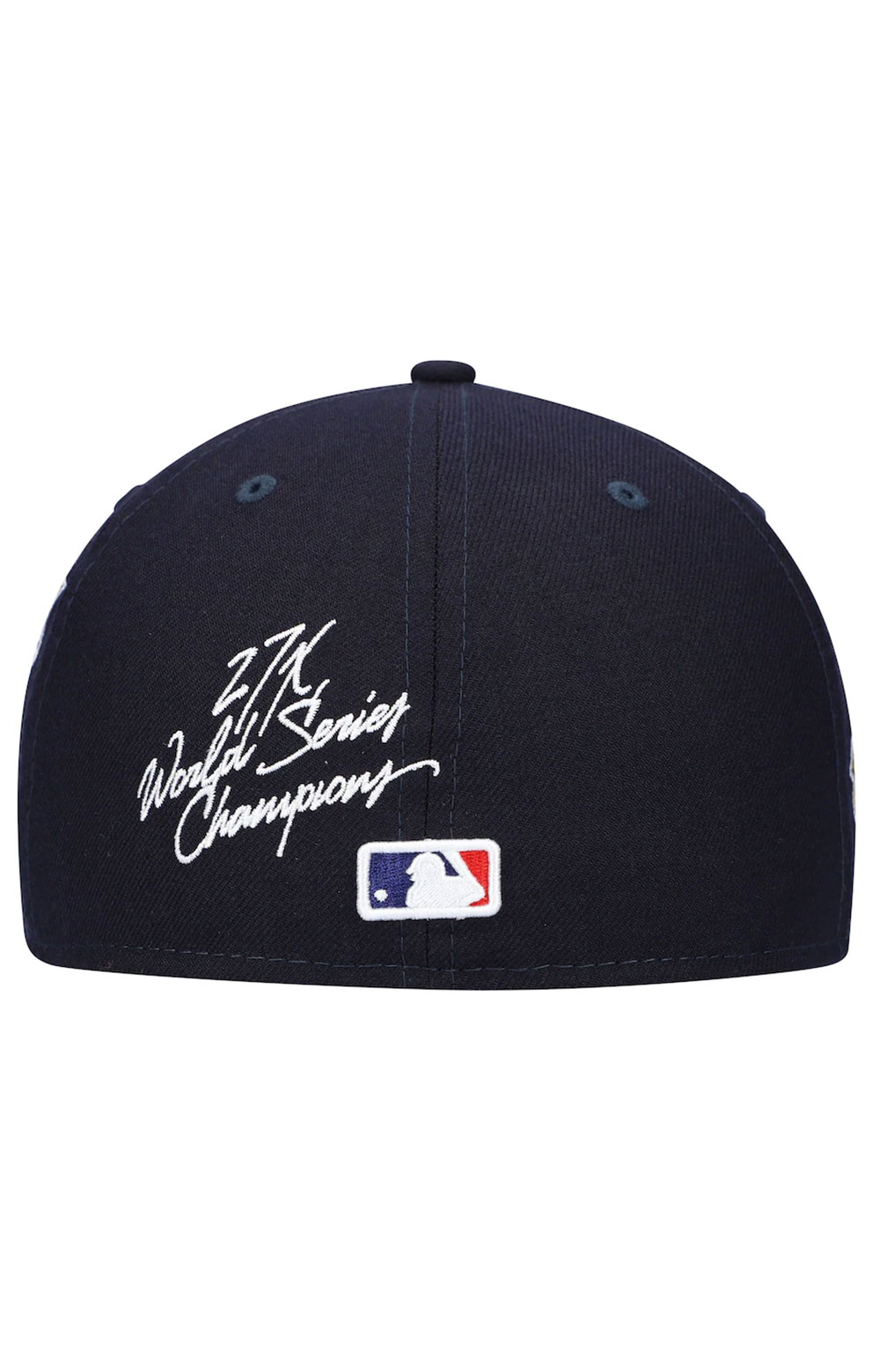 New York Yankees World Series Patch 59Fifty Fitted Hat - Navy 4