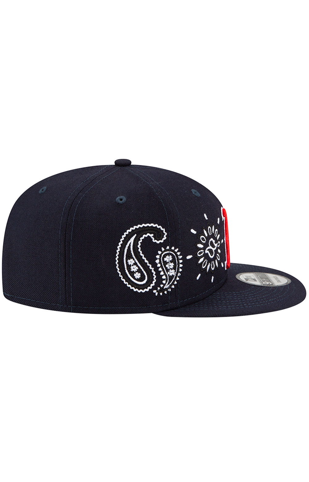 Boston Red Sox Paisley Elements 9Fifty Snap-Back Hat - Black 4