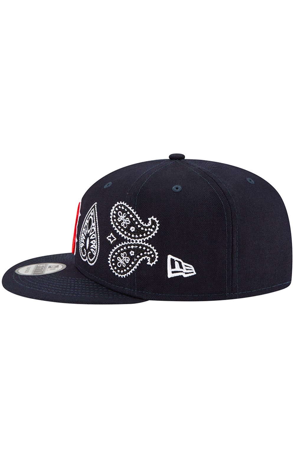 Boston Red Sox Paisley Elements 9Fifty Snap-Back Hat - Black 6
