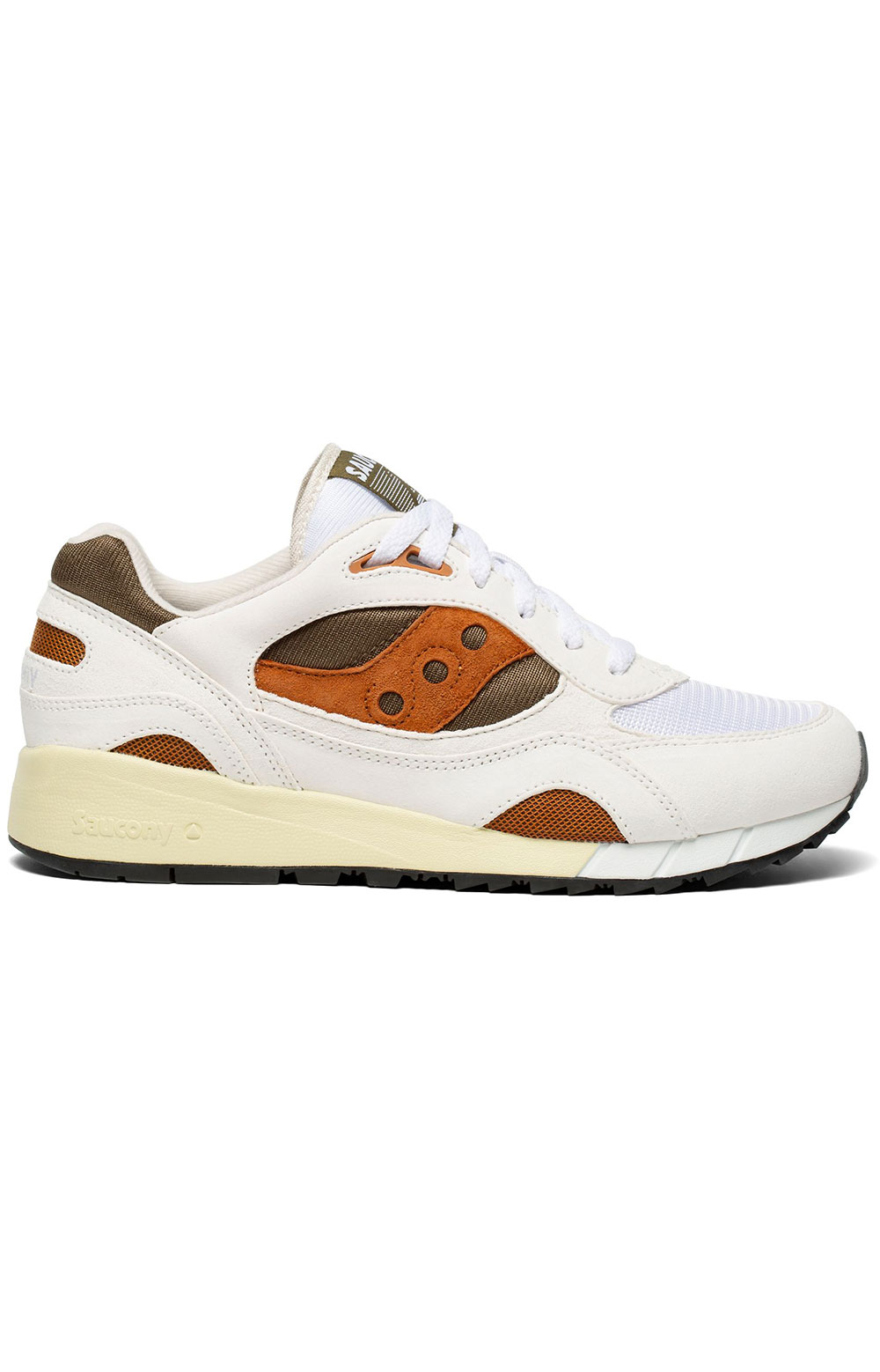 (S70441-14) Shadow 6000 Shoes - White/Rust