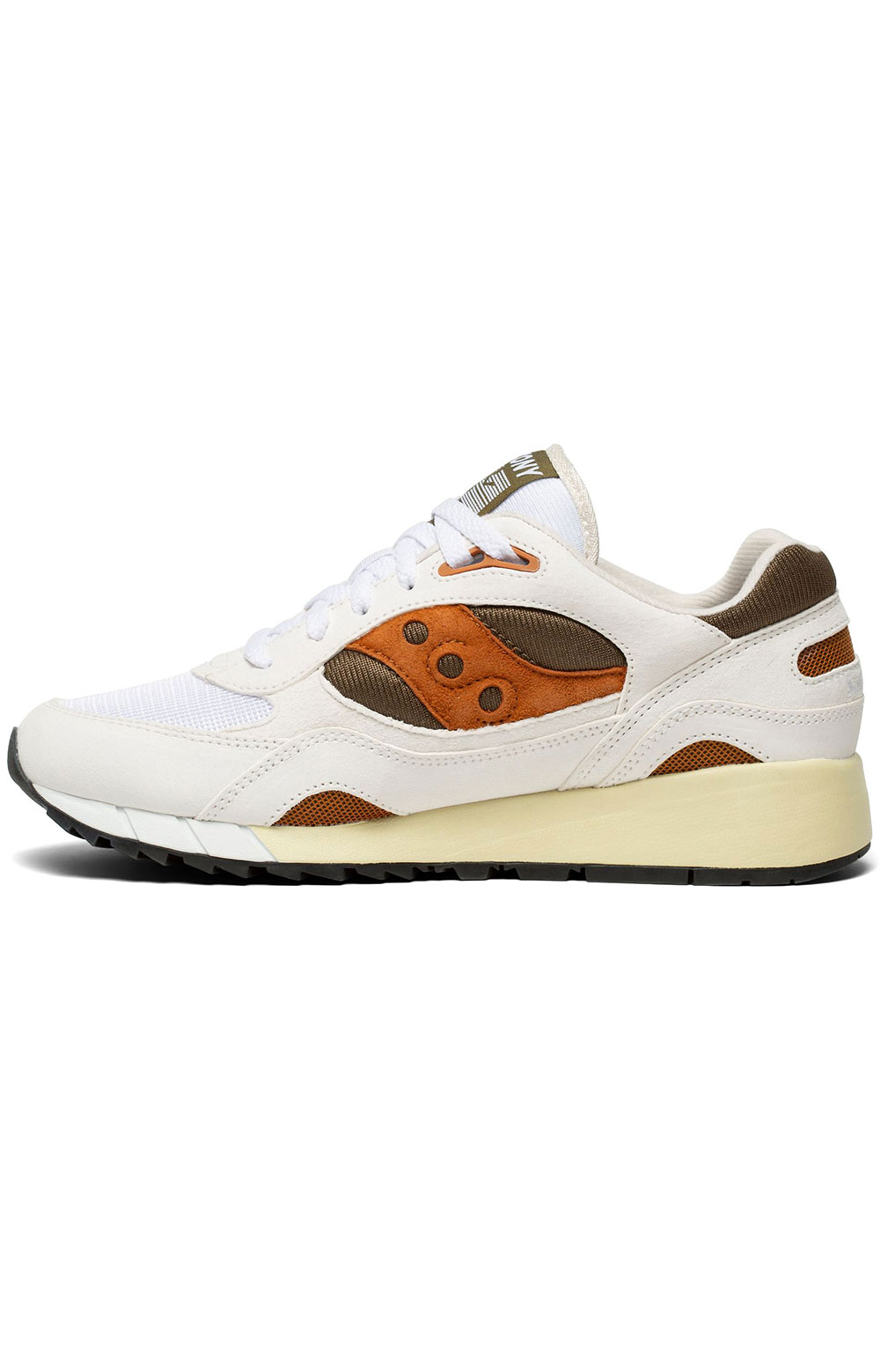 (S70441-14) Shadow 6000 Shoes - White/Rust 2