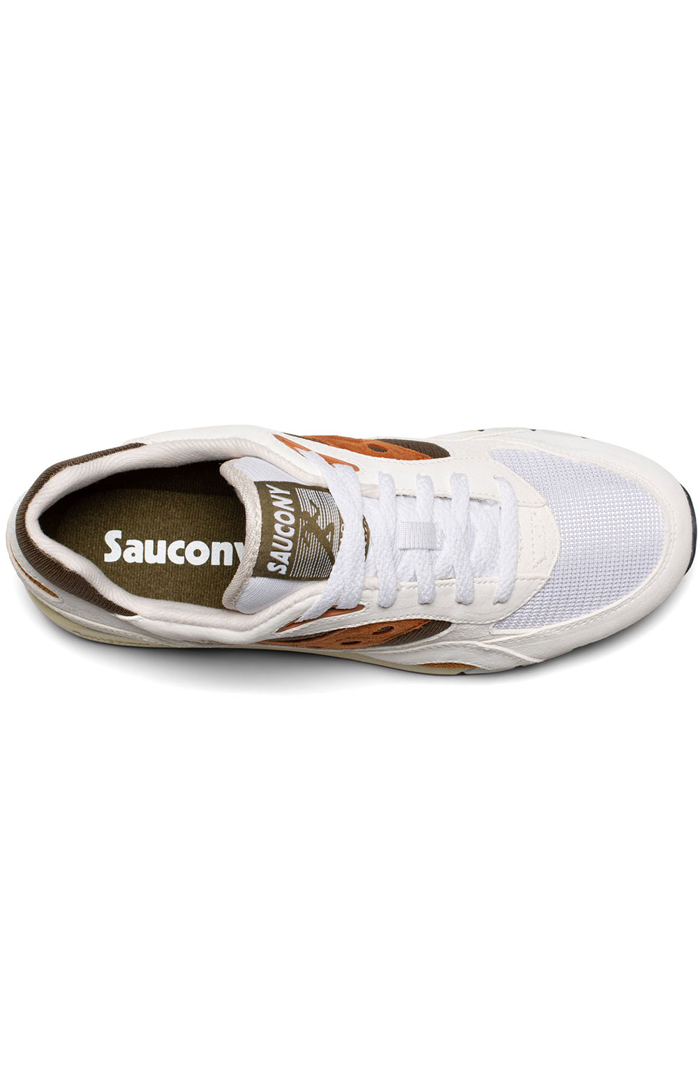 (S70441-14) Shadow 6000 Shoes - White/Rust 3