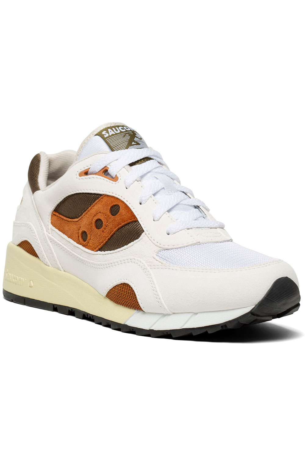 (S70441-14) Shadow 6000 Shoes - White/Rust 5