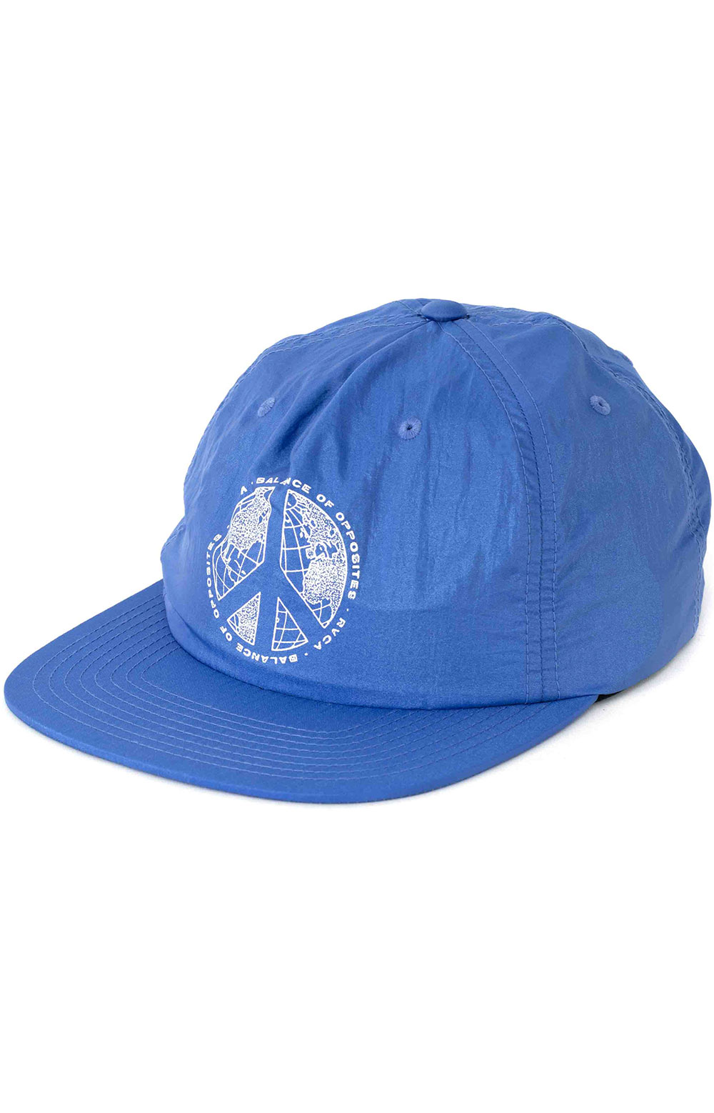Pacifists Snap-Back Hat - Blue