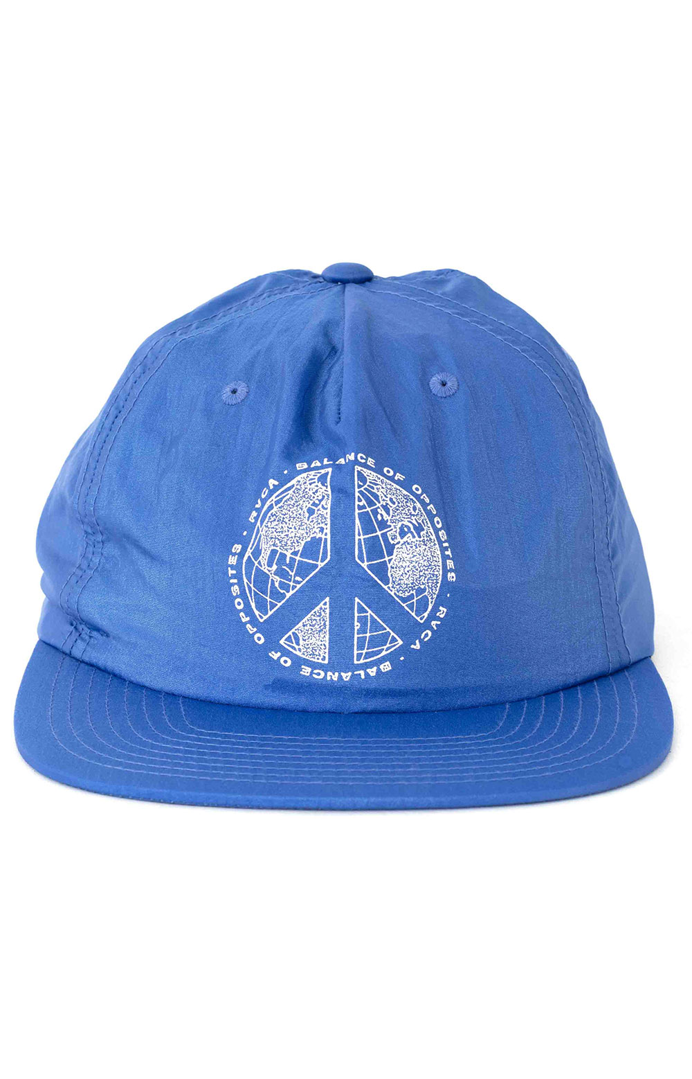 Pacifists Snap-Back Hat - Blue  2