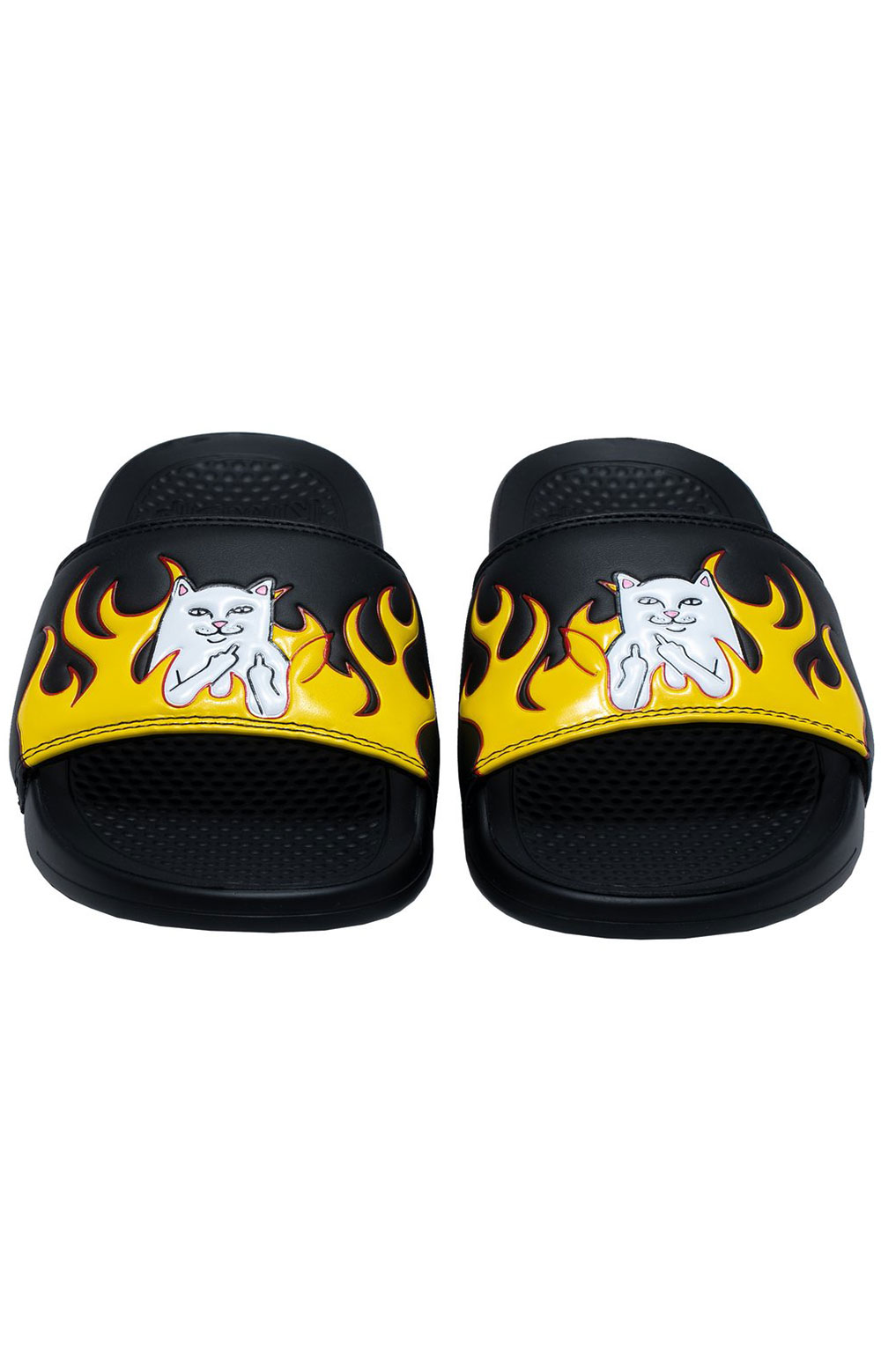 Welcome To Heck Slides - Black Flame