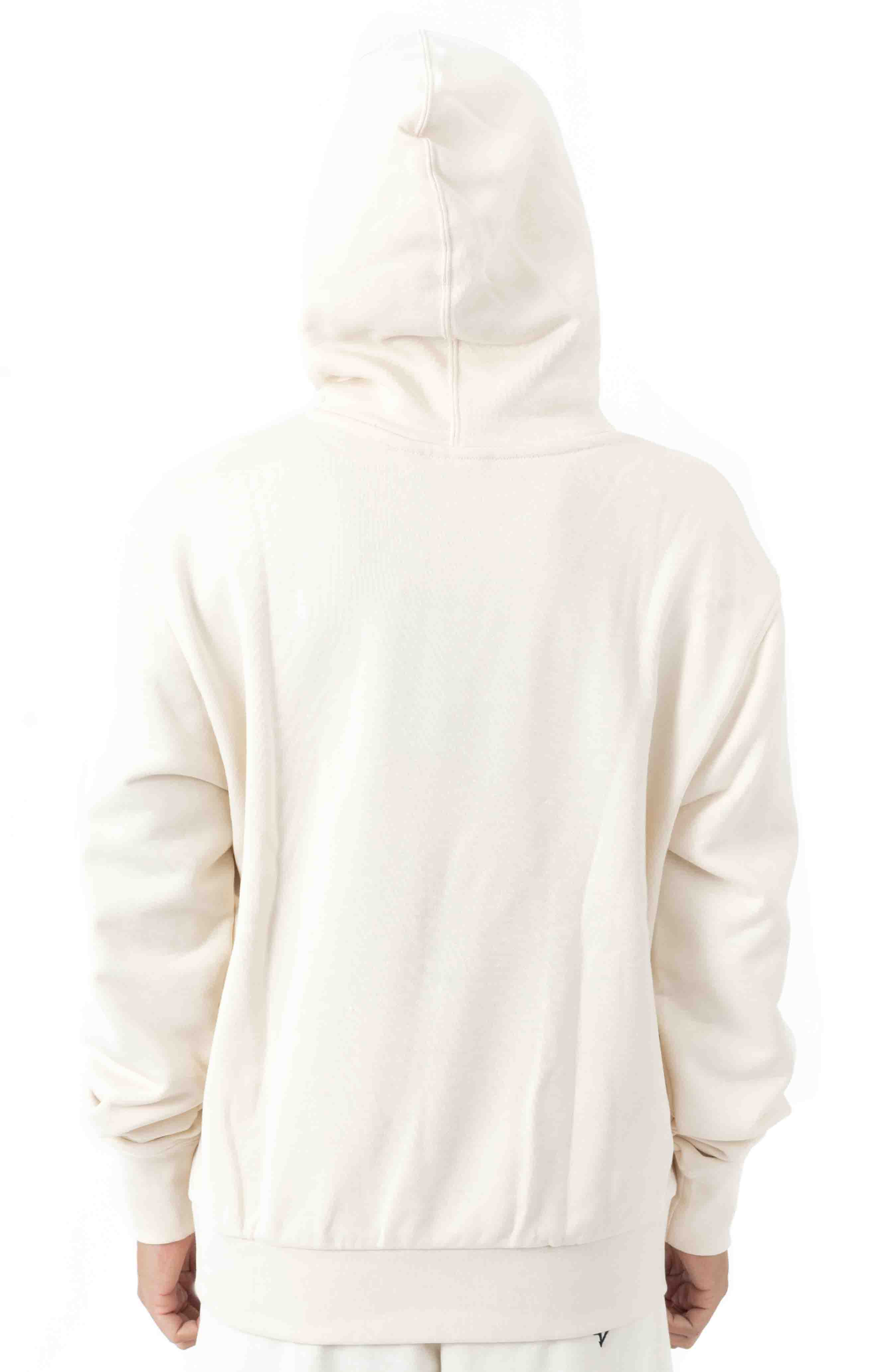 Floral Trefoil Pullover Hoodie - Non Dyed 3