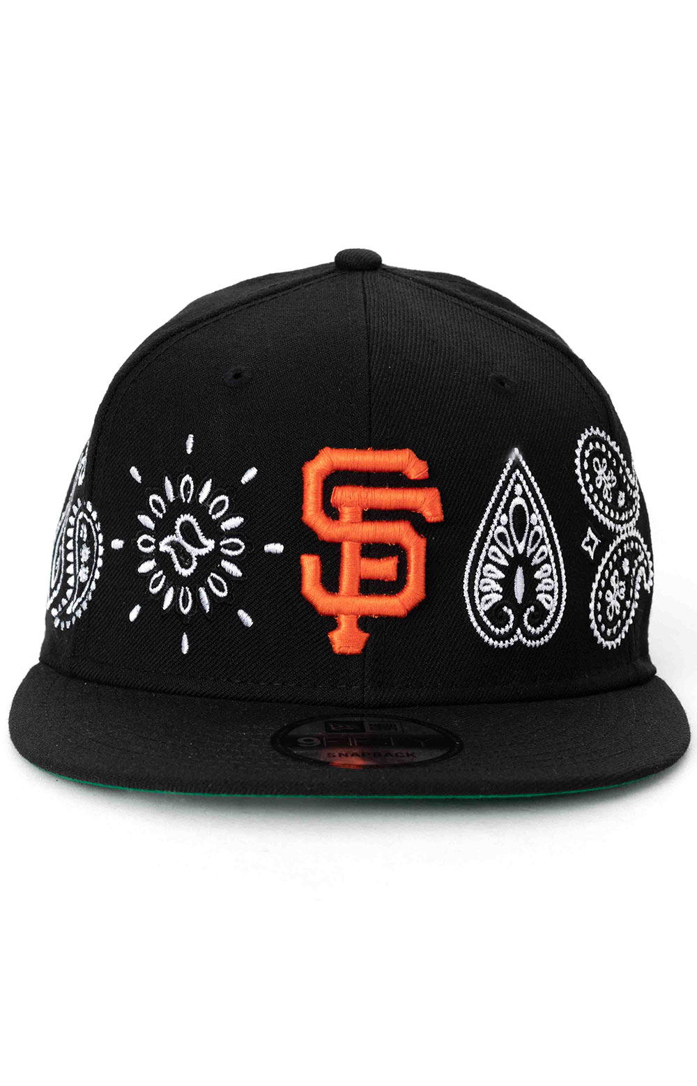 SF Giants Paisley Elements 9Fifty Snap-Back Hat - Black 2