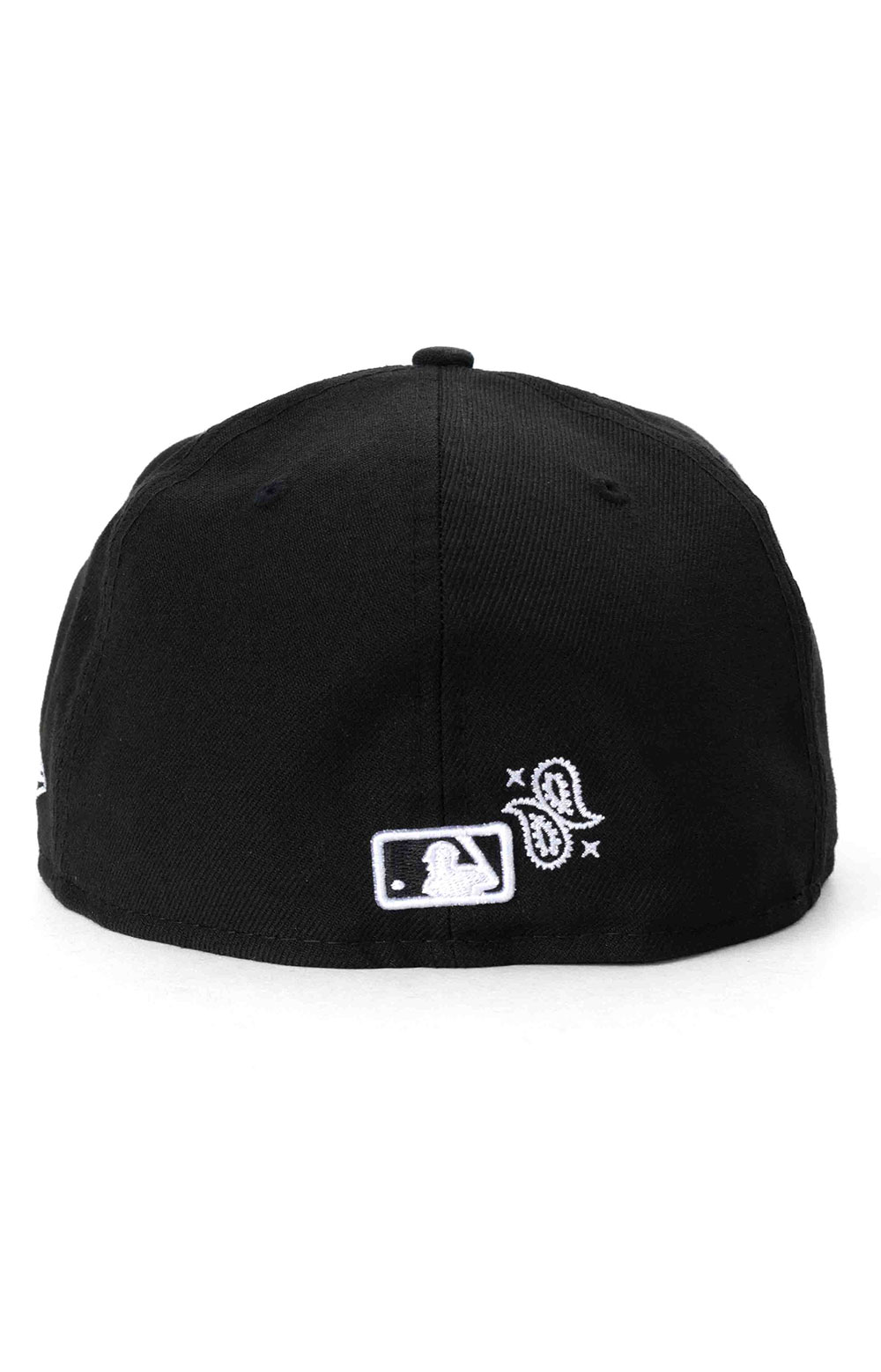 Oakland Athletics Paisley Elements 59Fifty Fitted Hat - Black  4