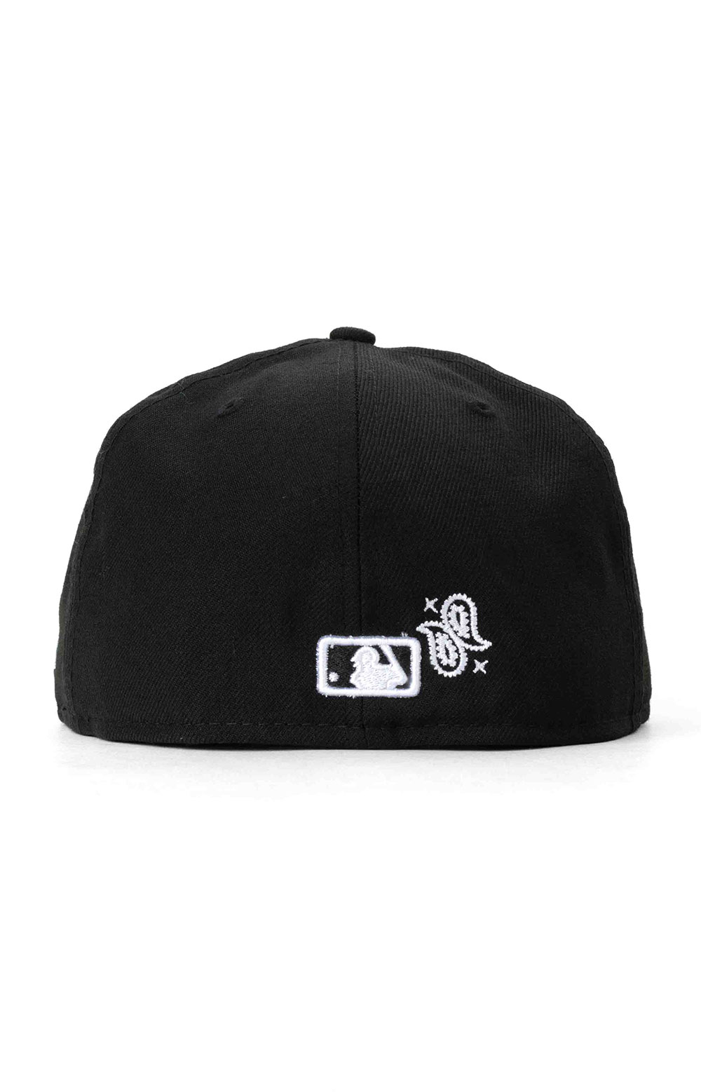 Atlanta Braves Paisley Elements 59Fifty Fitted Hat - Black  4