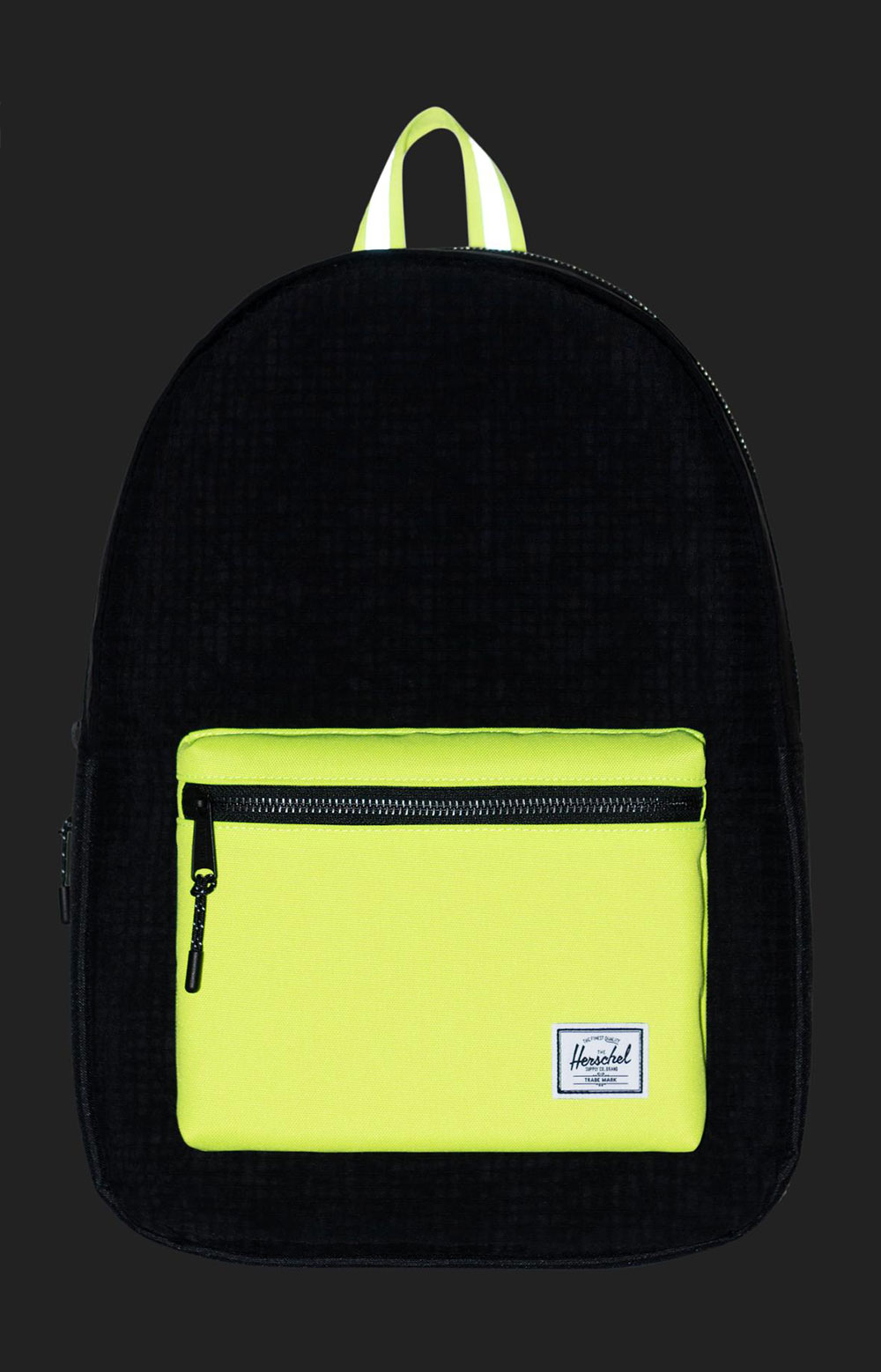 Settlement Backpack - Black Enzyme Ripstop/Black/Safety Yellow 2