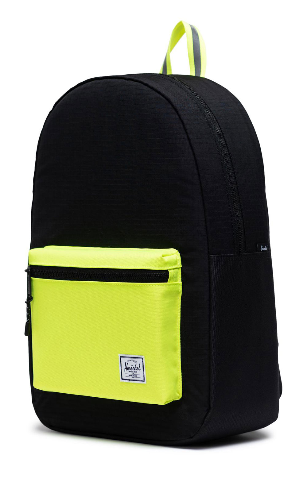 Settlement Backpack - Black Enzyme Ripstop/Black/Safety Yellow 4