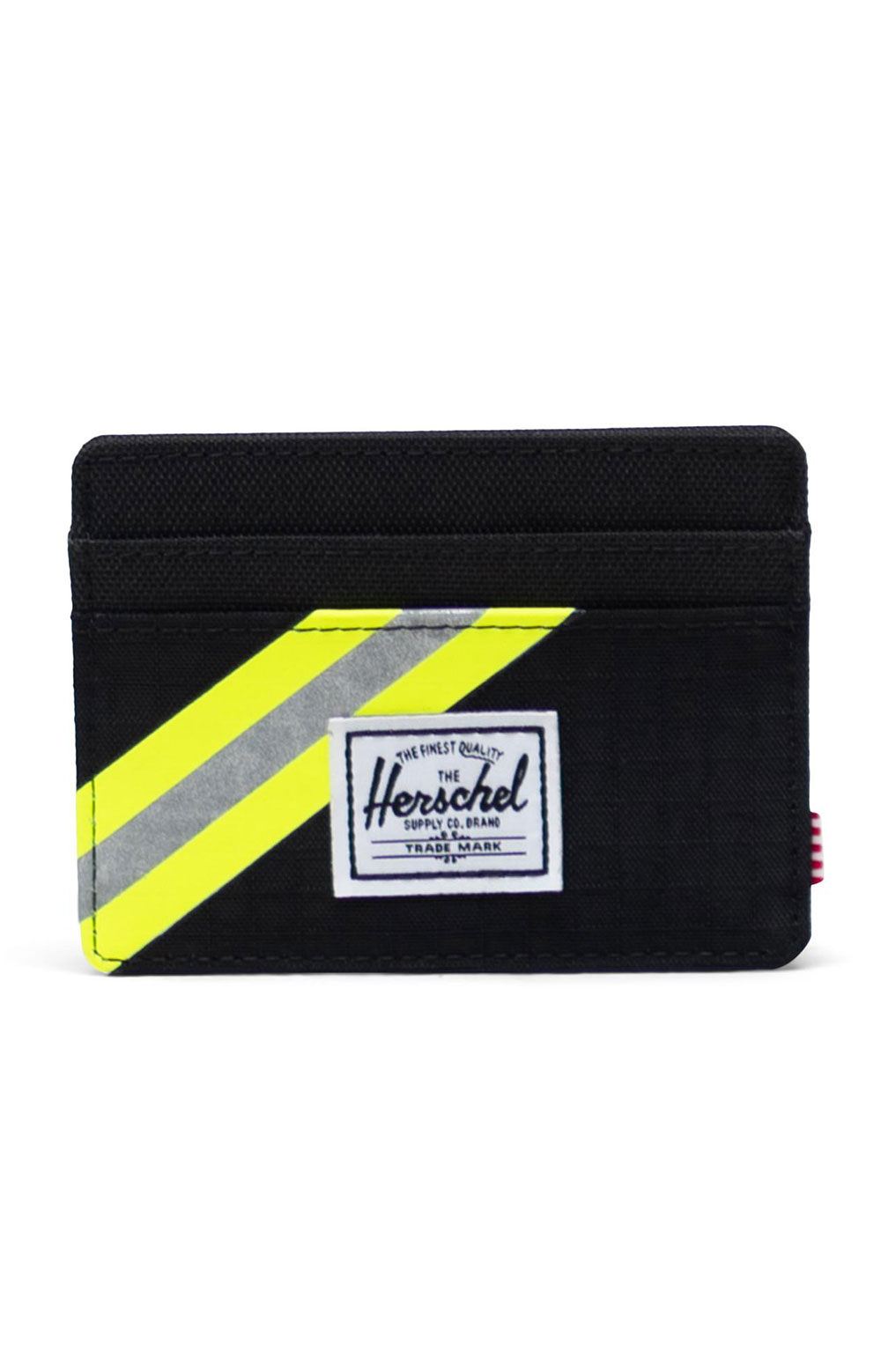 Charlie Wallet - Black Enzyme Ripstop/Black/Safety Yellow