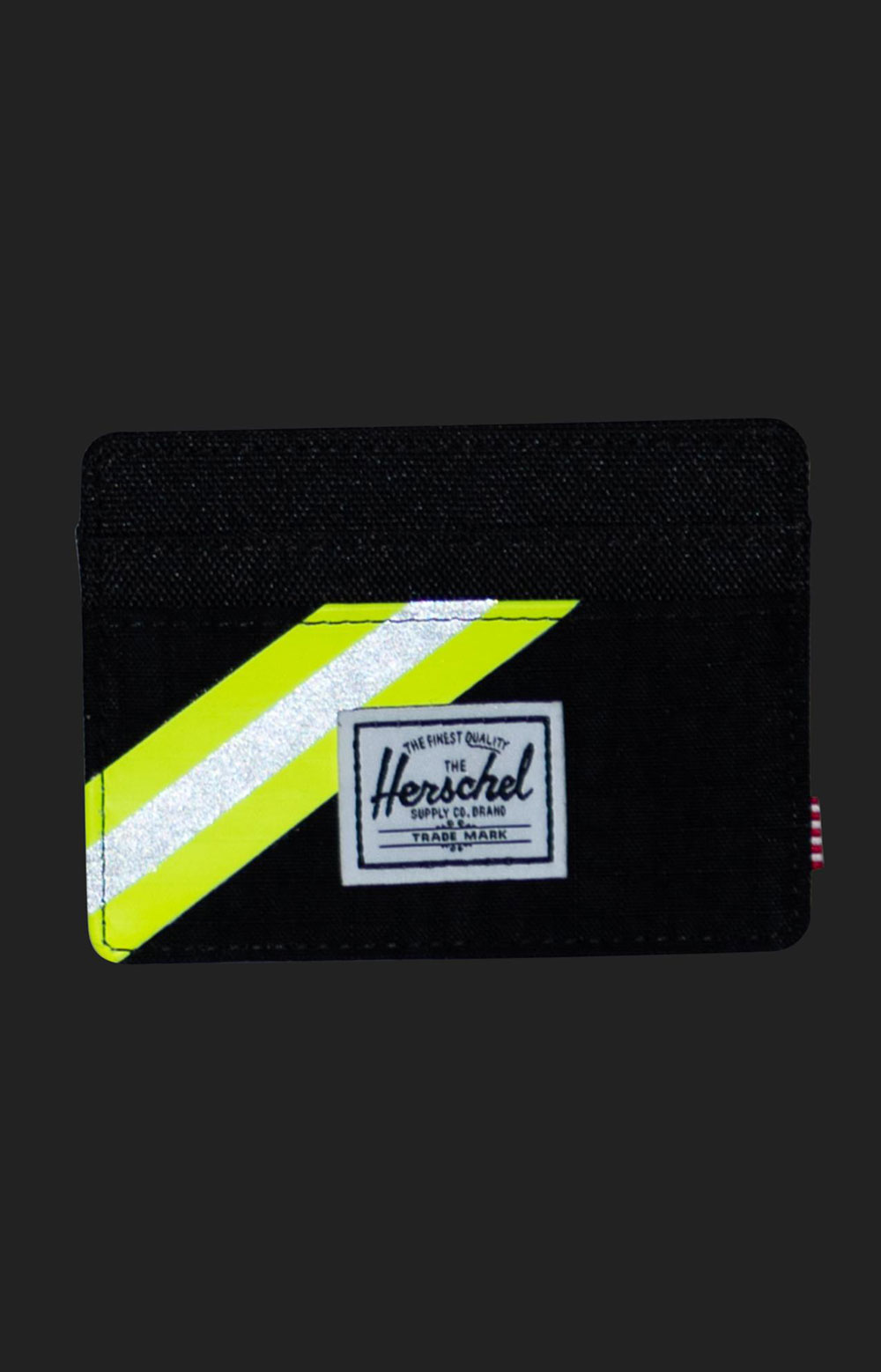 Charlie Wallet - Black Enzyme Ripstop/Black/Safety Yellow 2