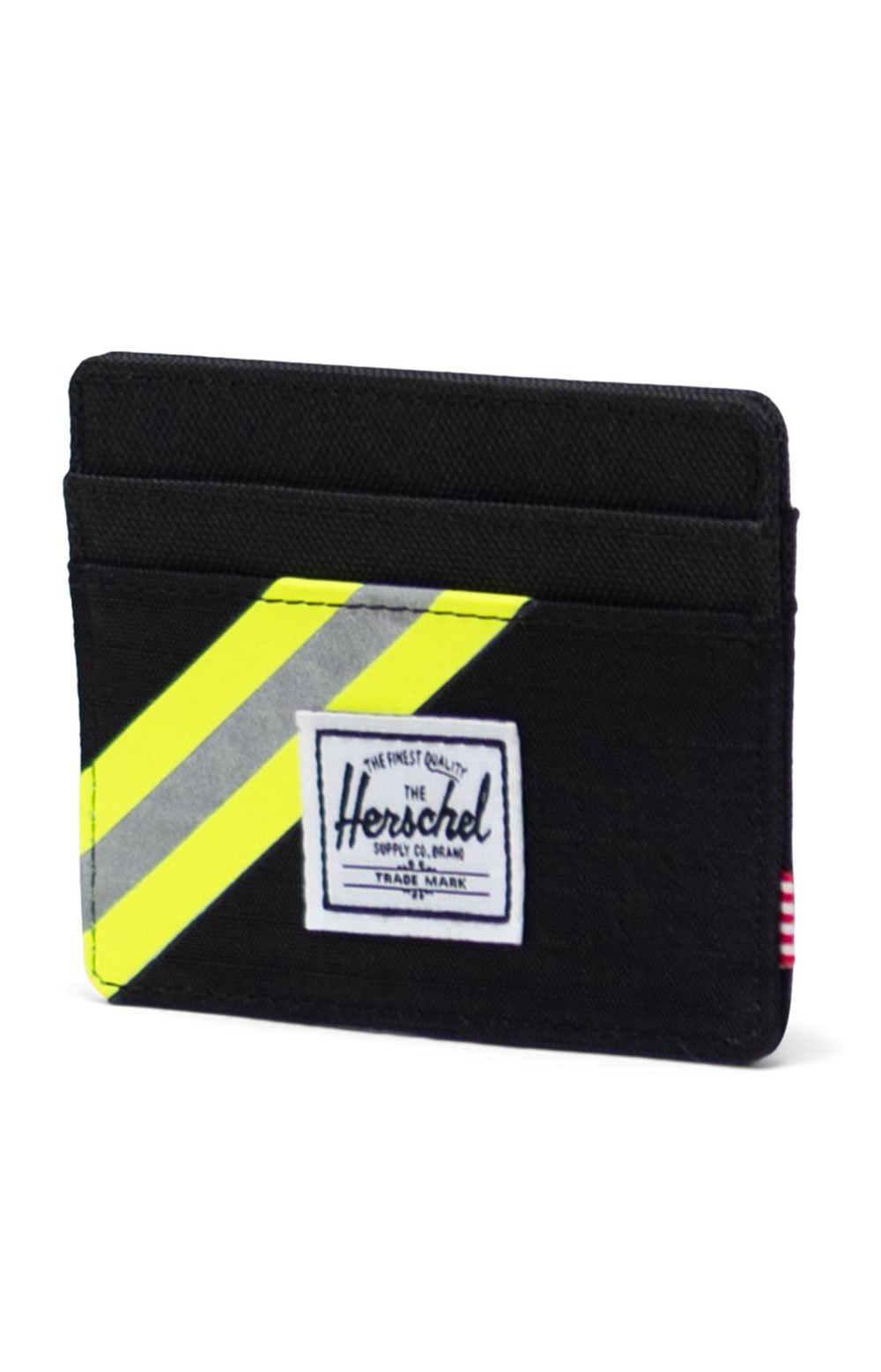 Charlie Wallet - Black Enzyme Ripstop/Black/Safety Yellow 3