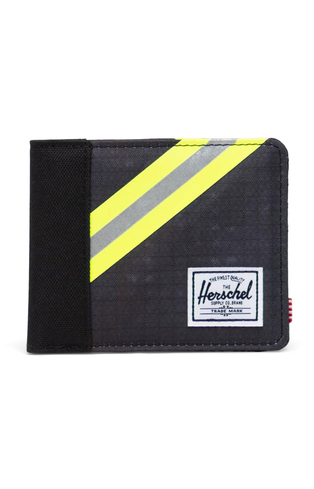 Roy Wallet - Black Enzyme Ripstop/Black/Safety Yellow