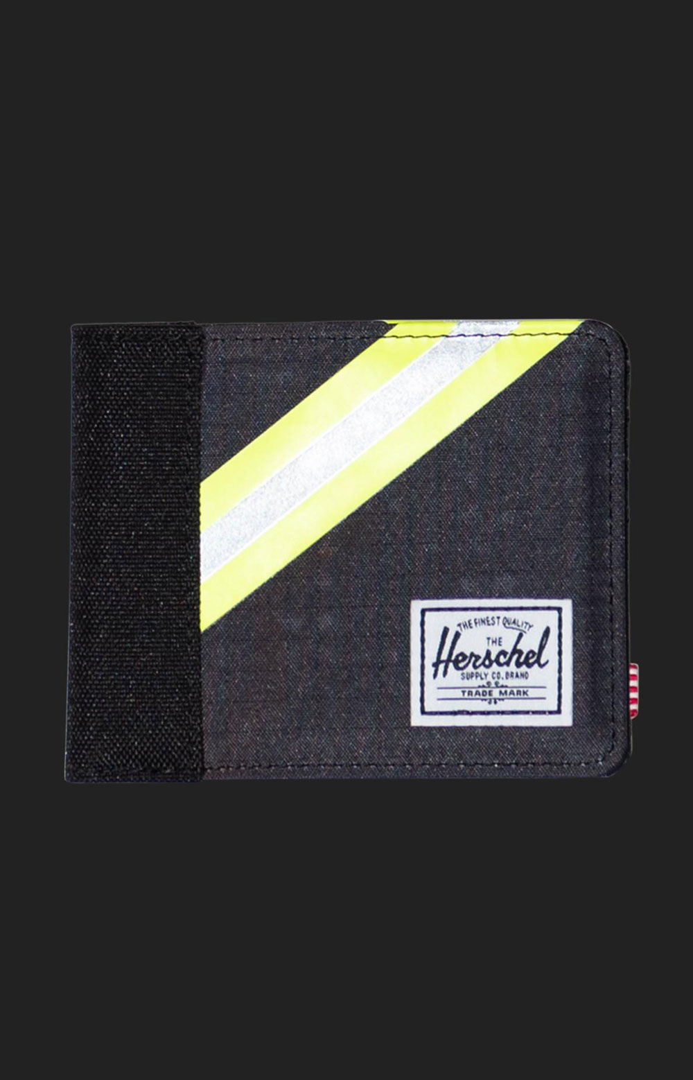Roy Wallet - Black Enzyme Ripstop/Black/Safety Yellow 2