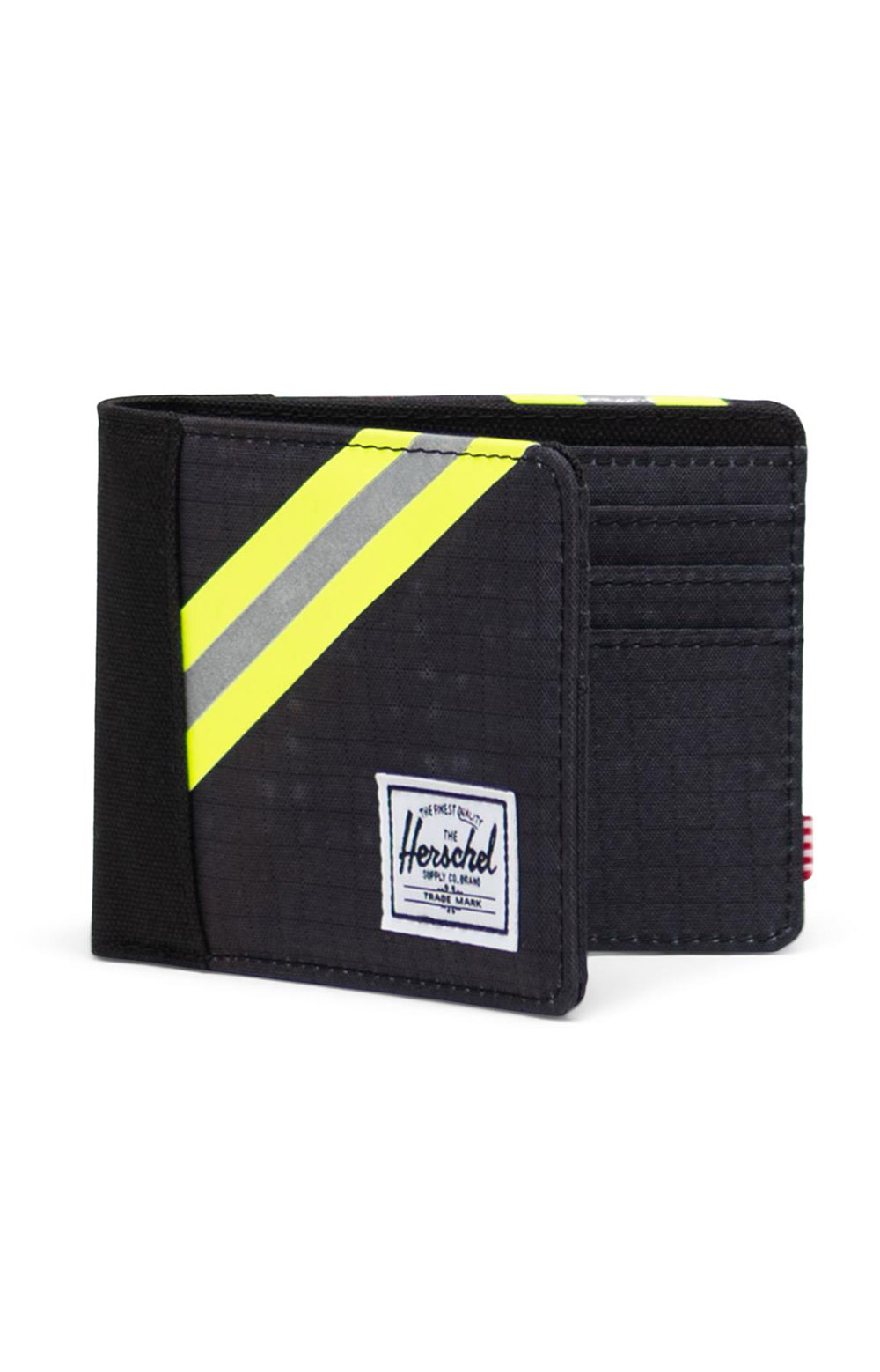 Roy Wallet - Black Enzyme Ripstop/Black/Safety Yellow 3