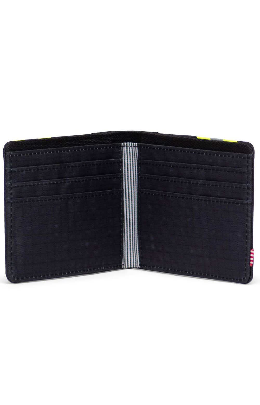 Roy Wallet - Black Enzyme Ripstop/Black/Safety Yellow 4