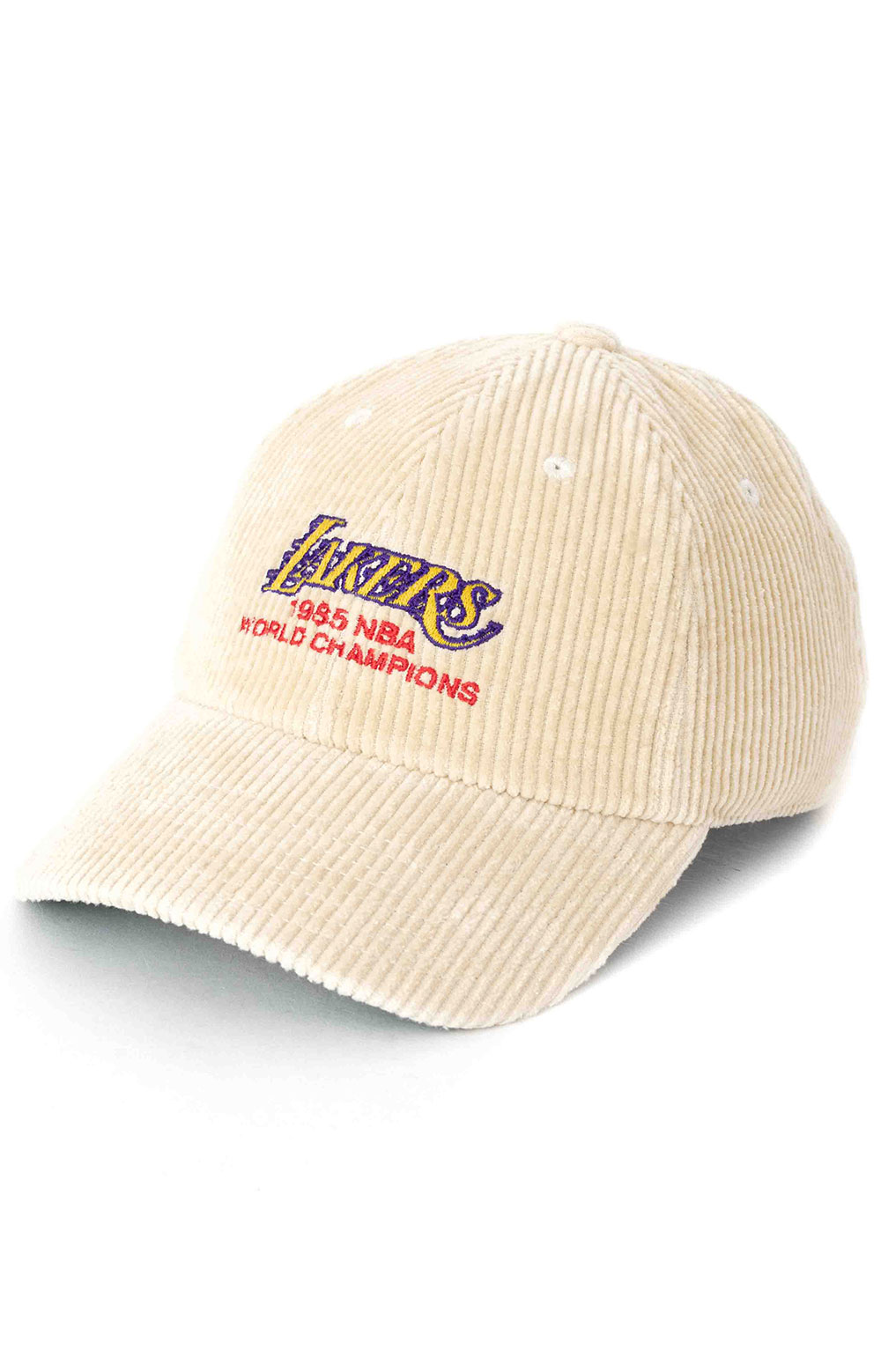 85 World Champs Dad Hat - Lakers