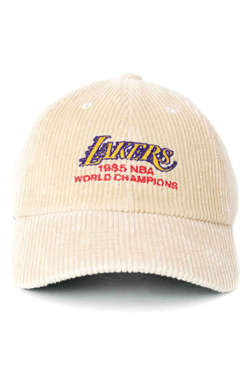 85 World Champs Dad Hat - Lakers  2
