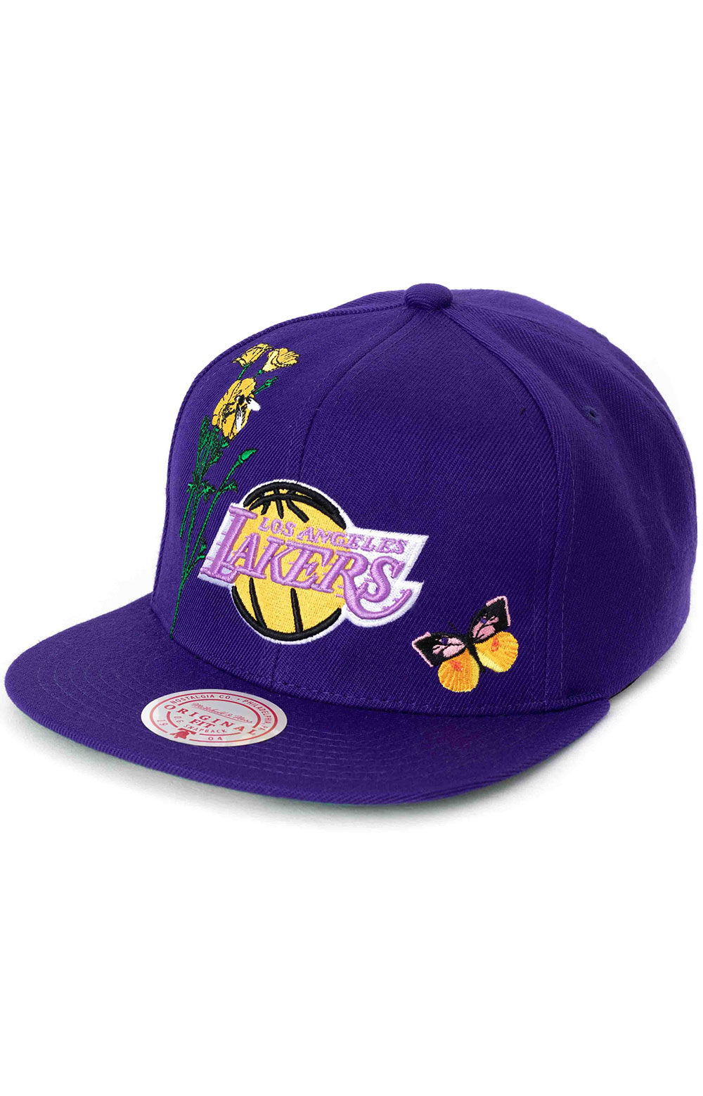 State Flower Snap-Back Hat - Lakers