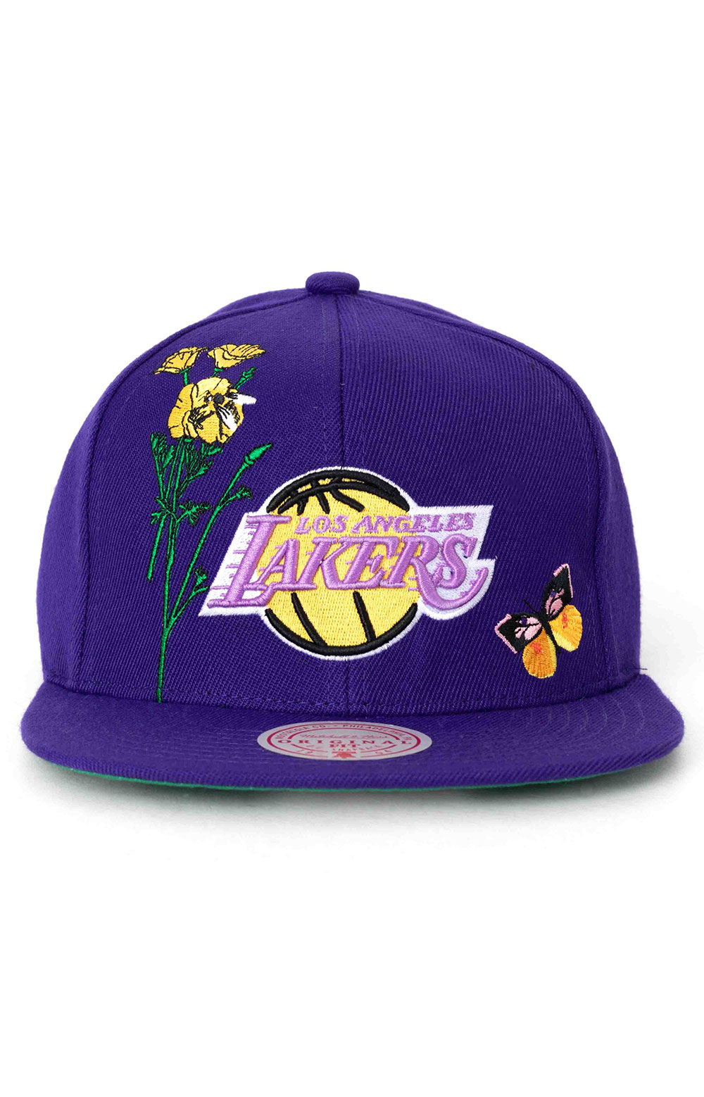 State Flower Snap-Back Hat - Lakers 2