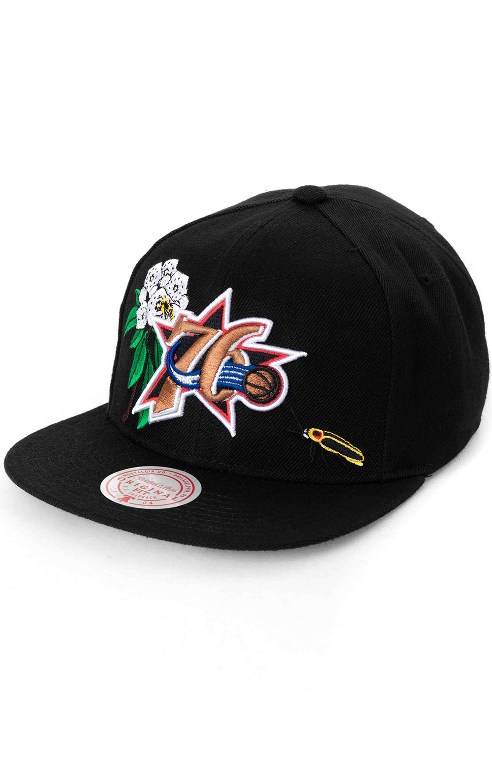 State Flower Snap-Back Hat - 76ers