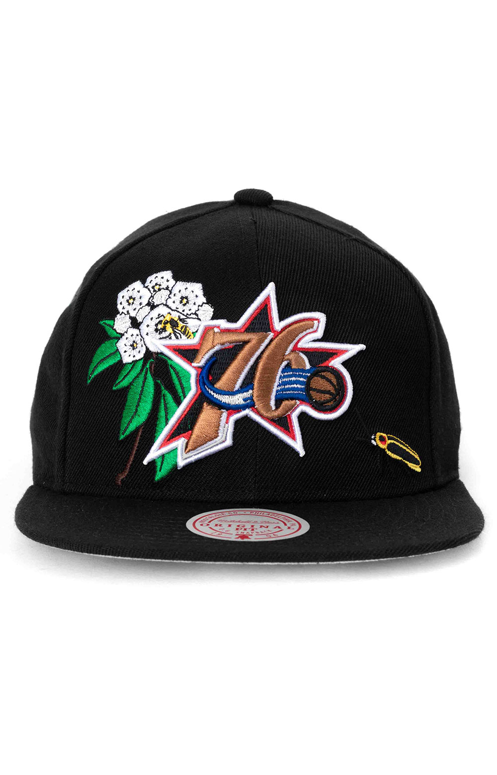 State Flower Snap-Back Hat - 76ers  2
