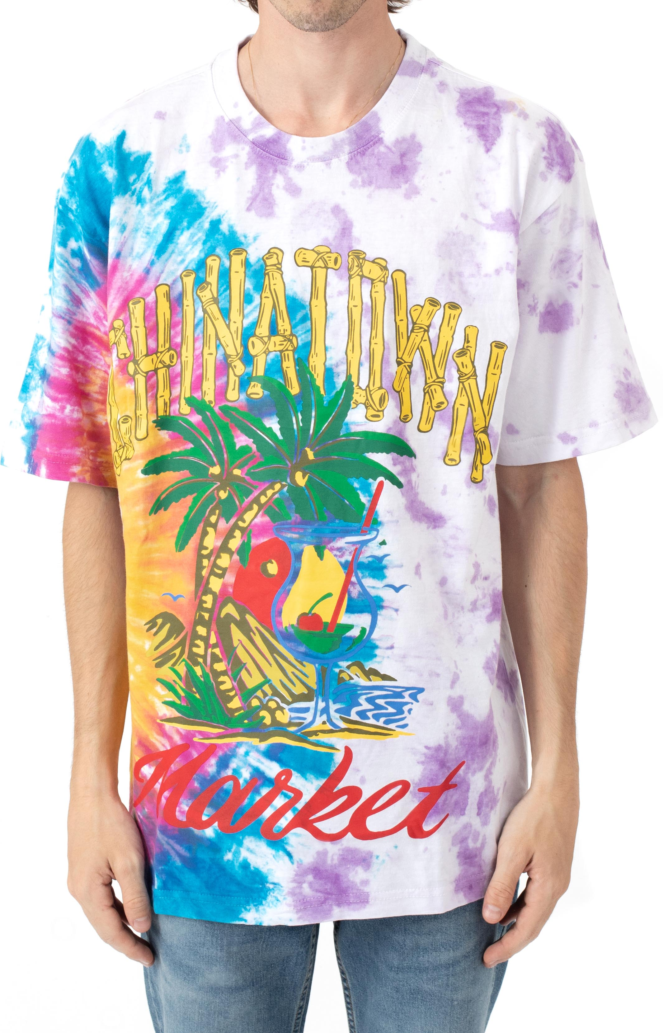 By The Water T-Shirt - Tie-Dye