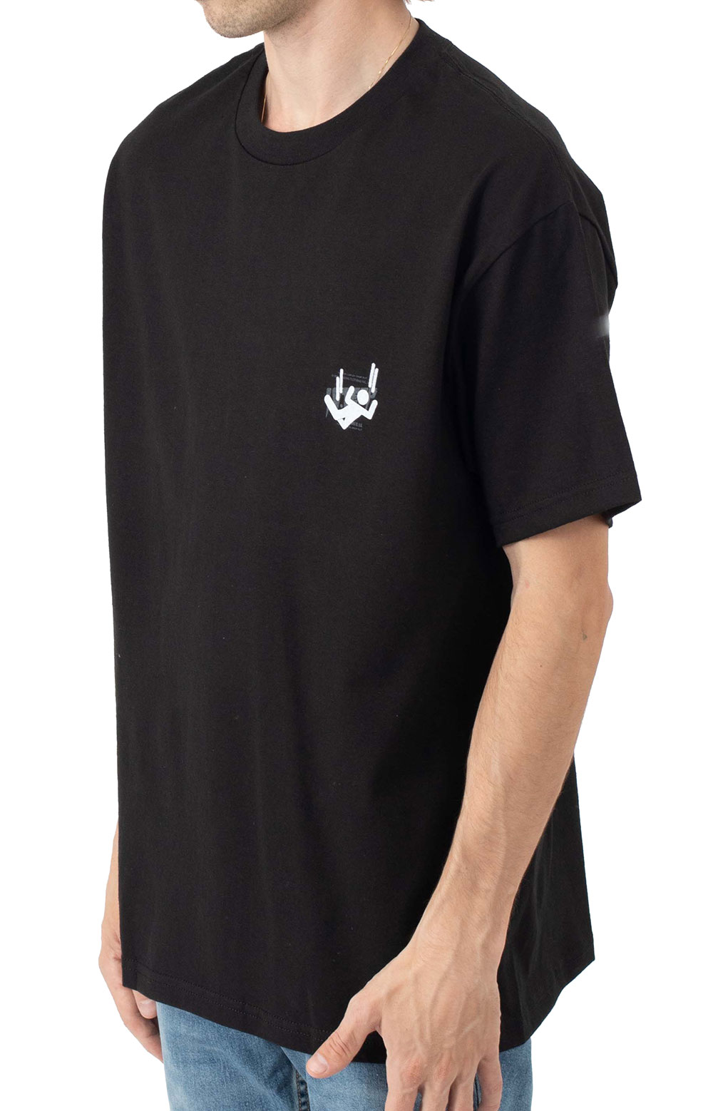 Log In Drop Out T-Shirt - Black 3