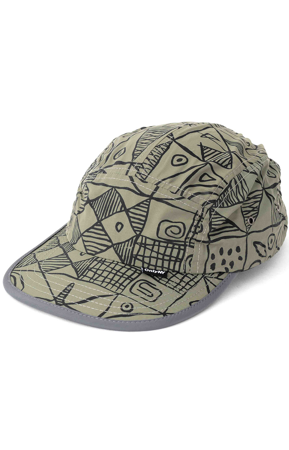 Marco Soft Bill 5 Panel Hat - Olive